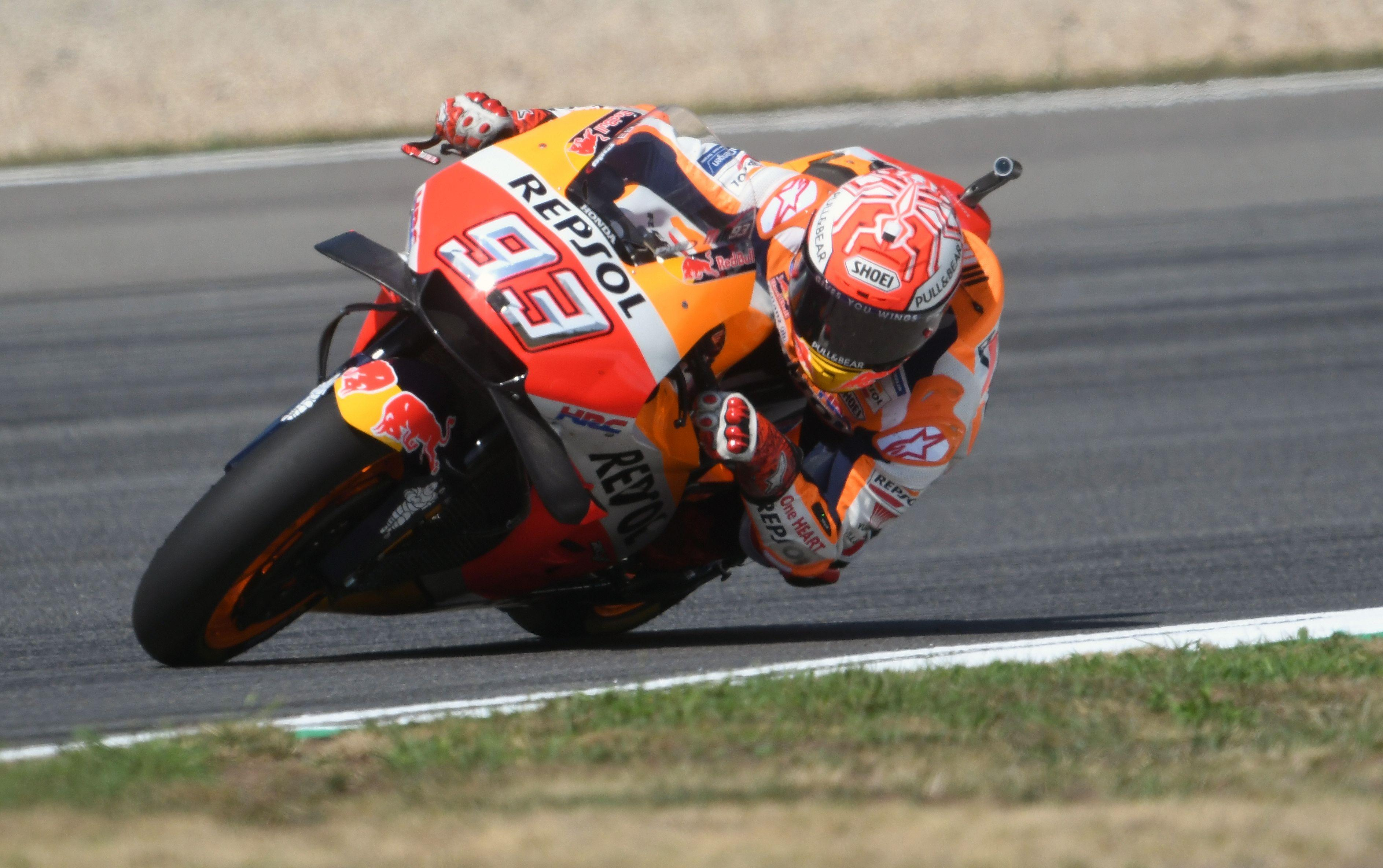 Marc Marquez is looking unstoppable in MotoGP at the moment