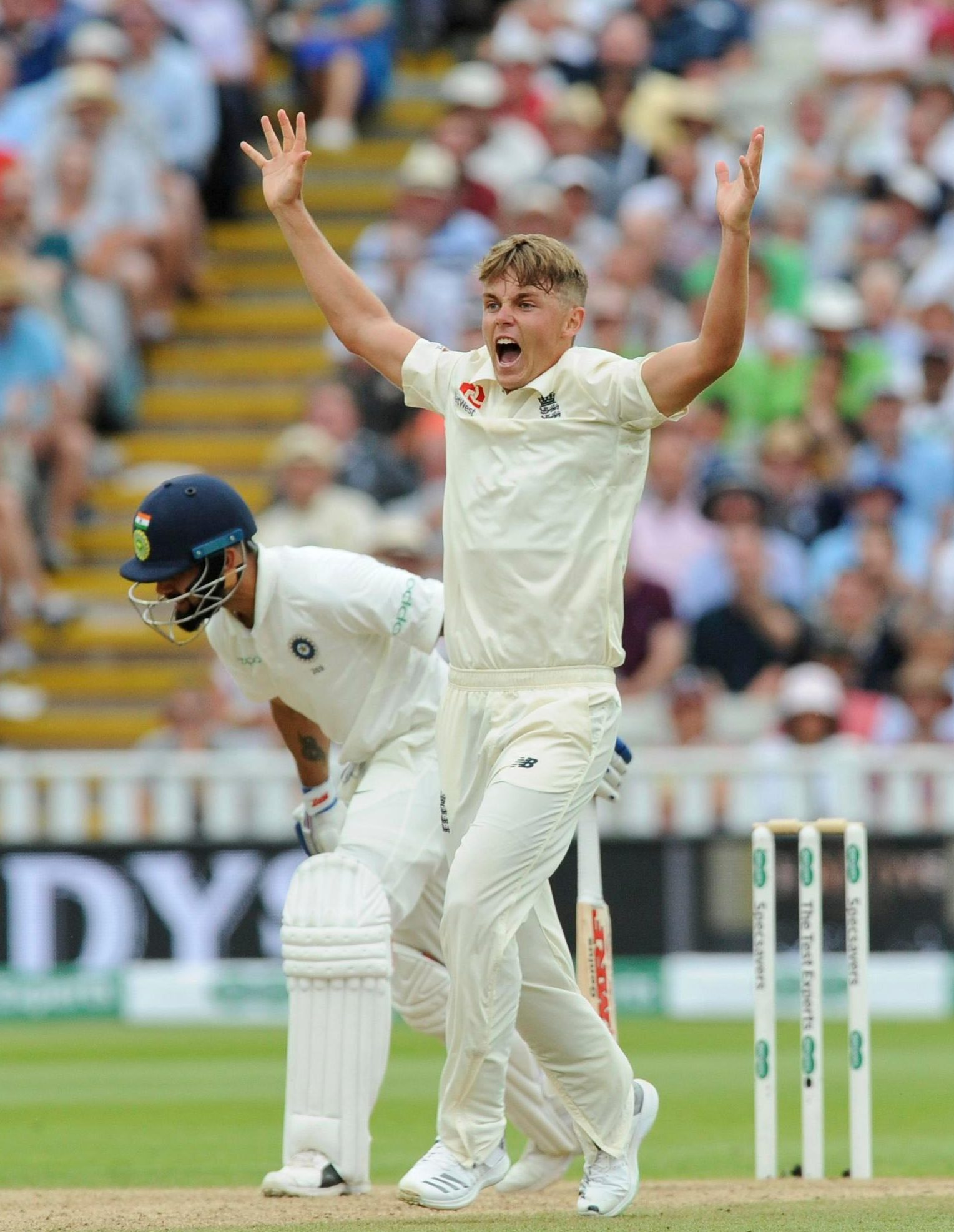 Sam Curran shone with bat and ball in the First Test for England - and needed to