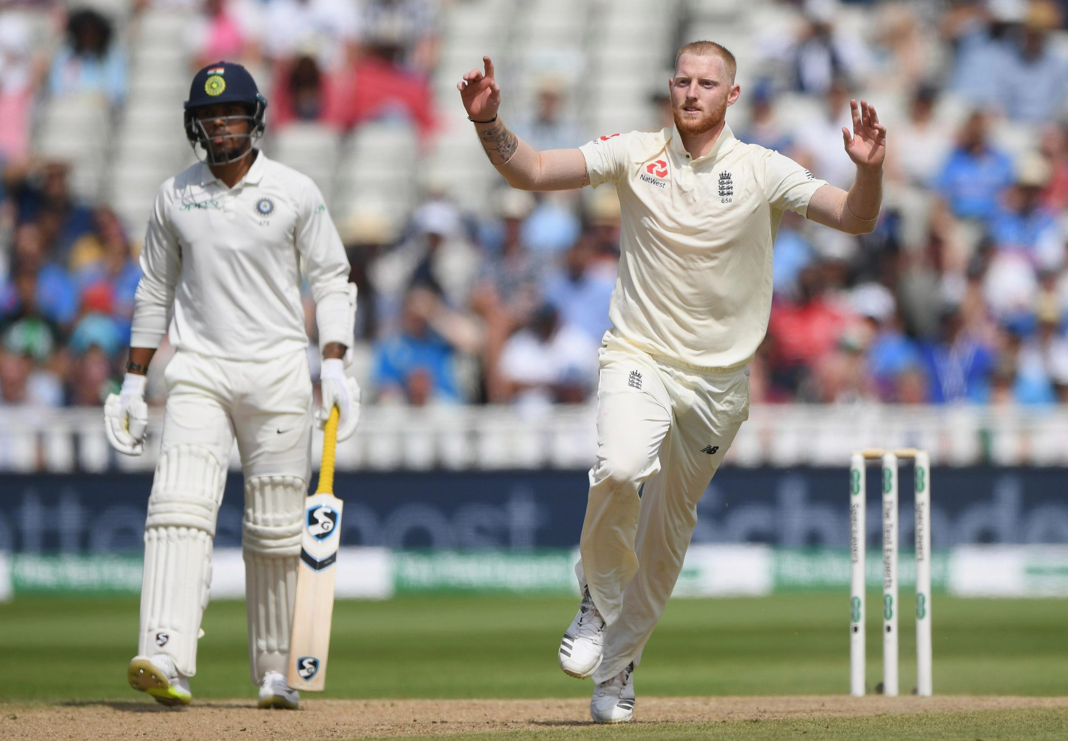 All-rounder Ben Stokes has been left out of the 13-man England squad for Trent Bridge but a call-up is not out of the question if a jury clear him of affray