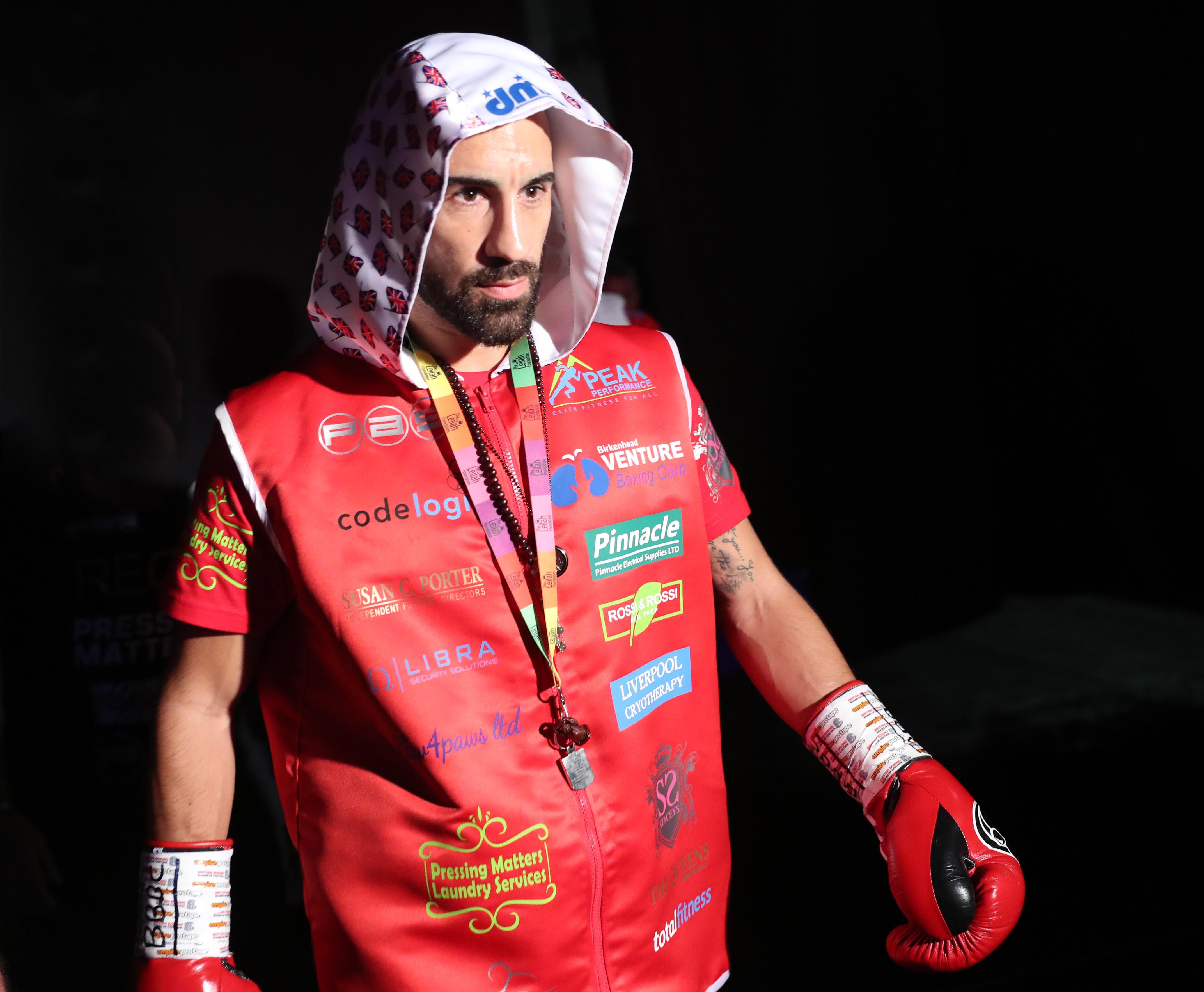Sean 'Masher' Dodd gave Joe Cordina a tough night in the ring, despite two judges scoring it wide