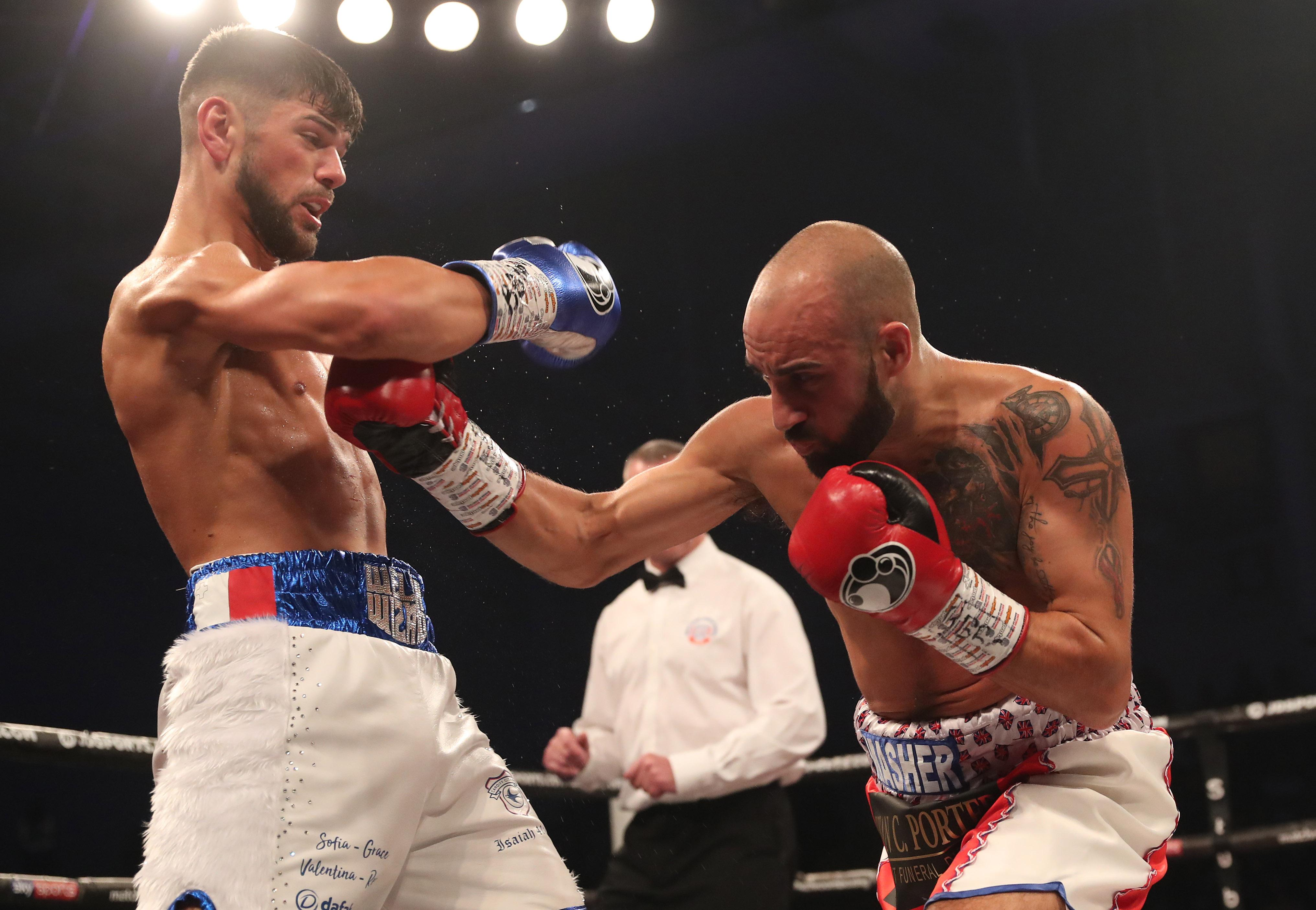 Joe Cordina may have won a wide points decision, but he certainly didn't have things all his own way against Sean Dodd