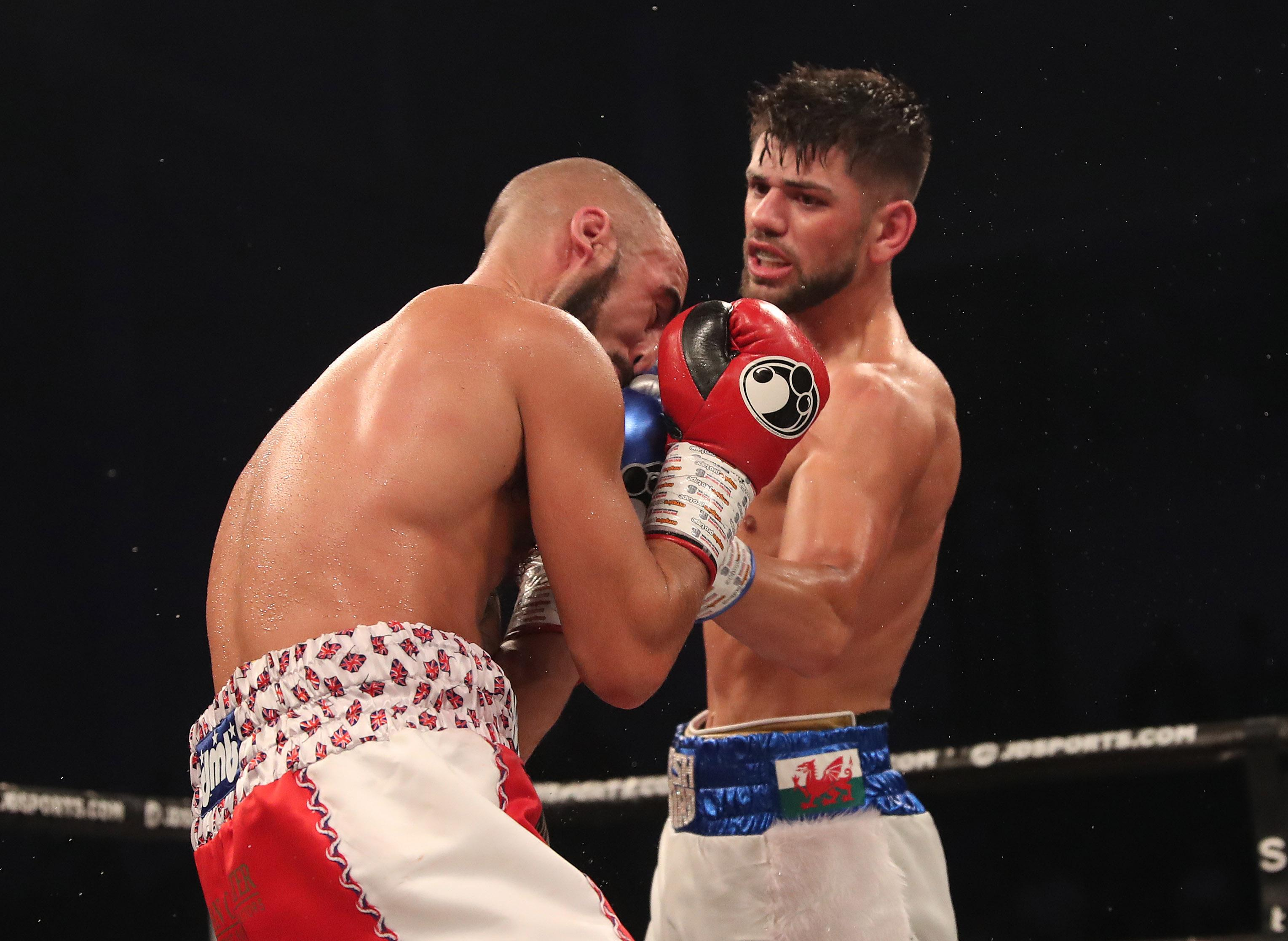 It was the first time Joe Cordina was taken the distance, but it will do him wonders in the long run