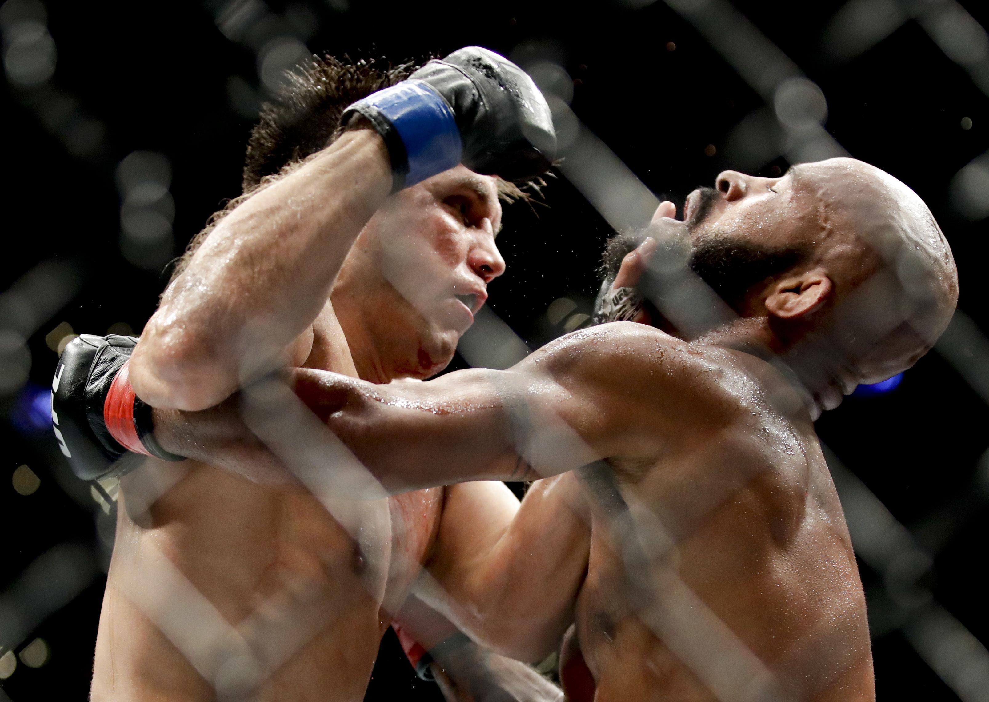 Johnson's defeat to Cejudo was his first in almost seven years