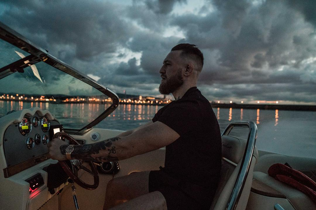 Irish ace Conor McGregor lives a life of luxury and seems happy to show it off