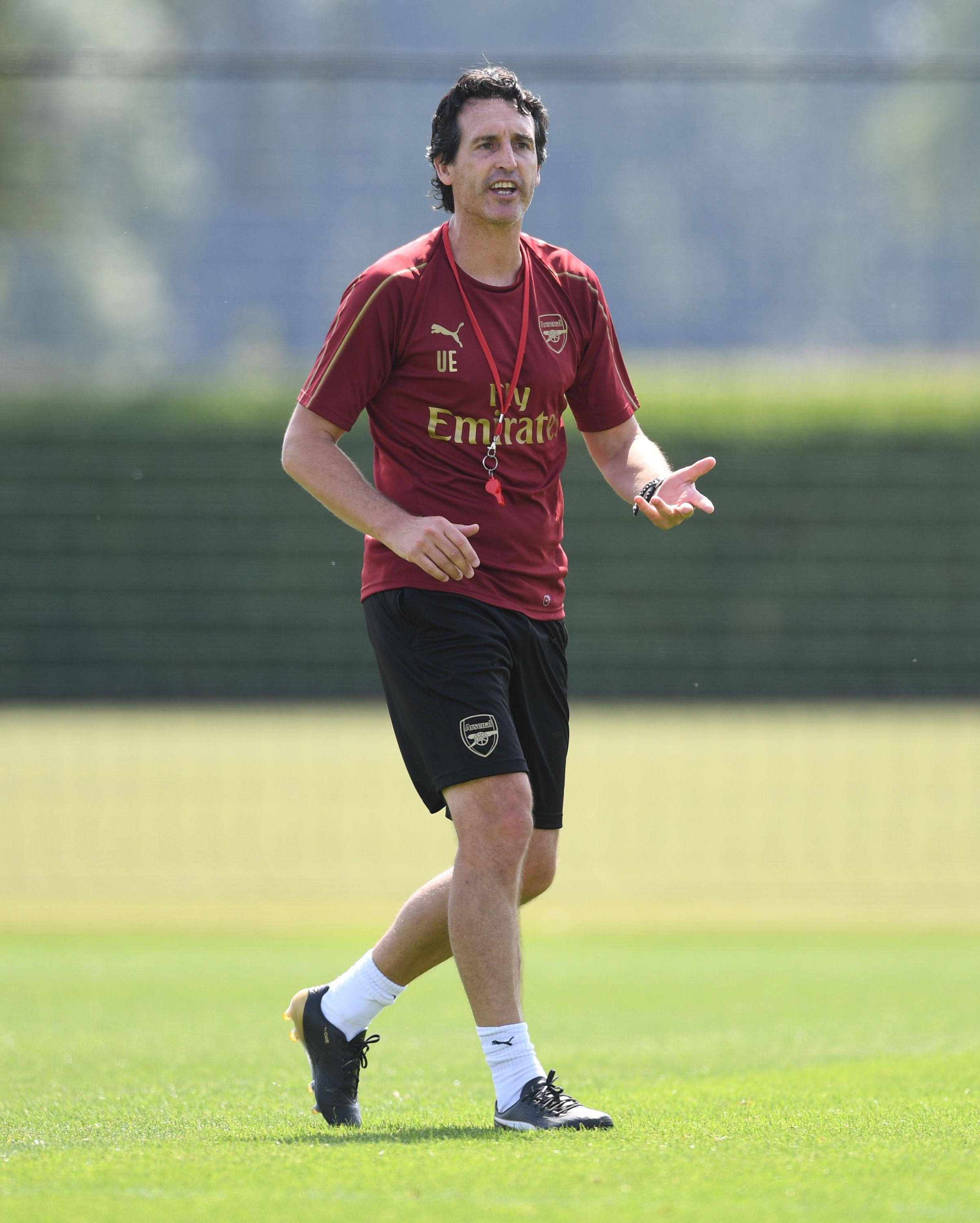 Unai Emery may still be hoping to conclude some deadline day deals