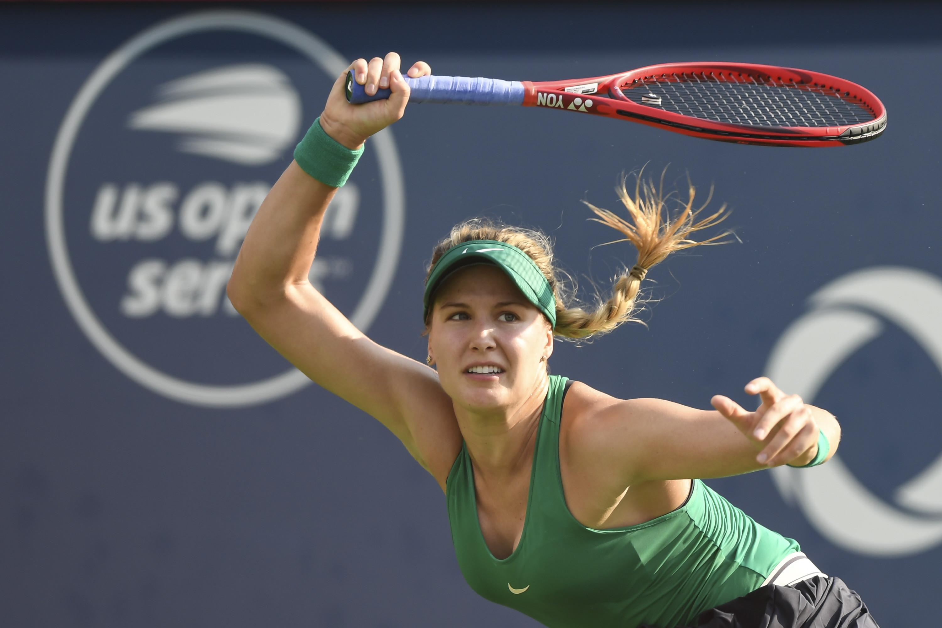 Eugenie Bouchard had earlier beaten the top seed at the Vancouver Open