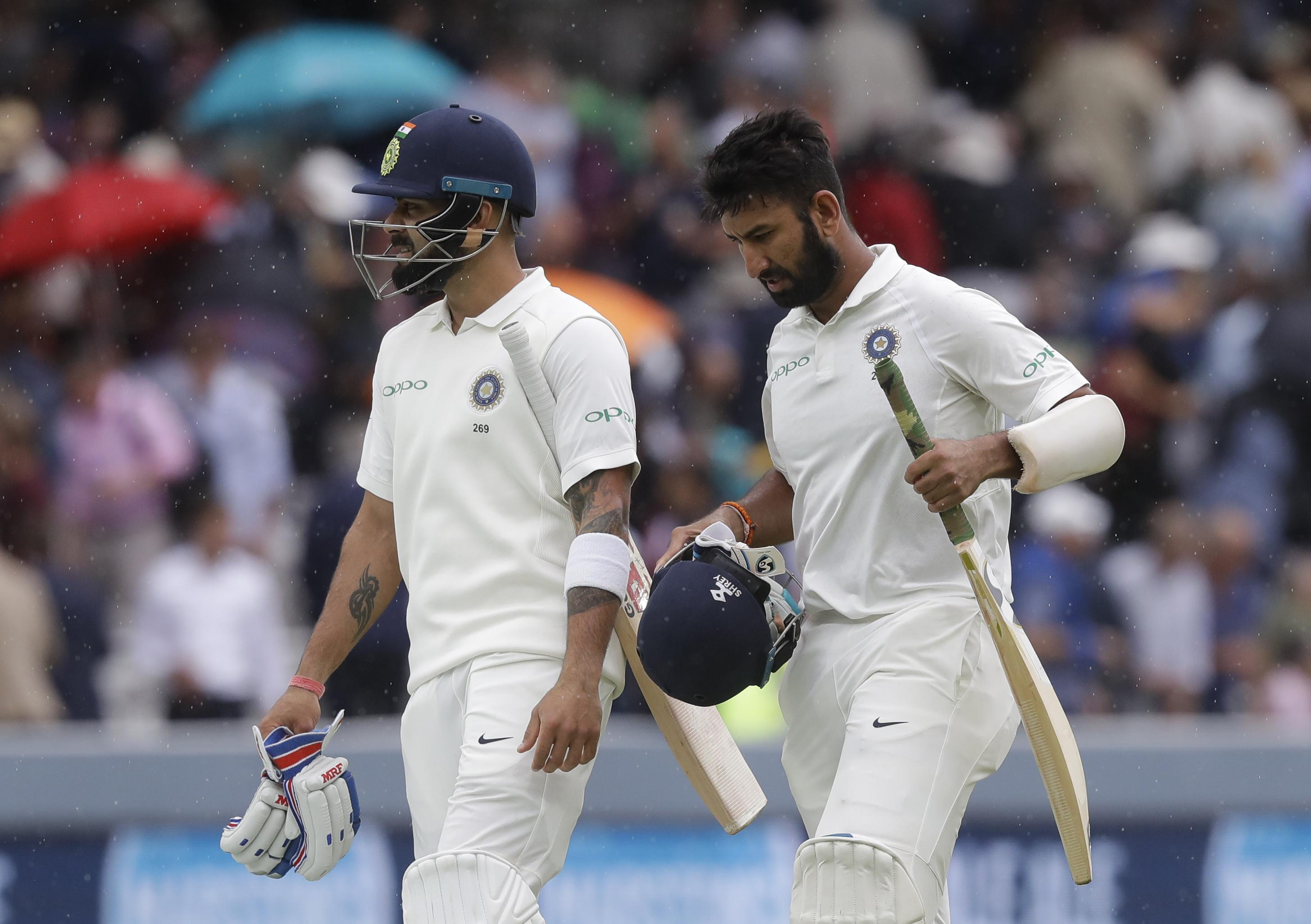 India suffered a horror run out in a breathless five minutes at Lord's