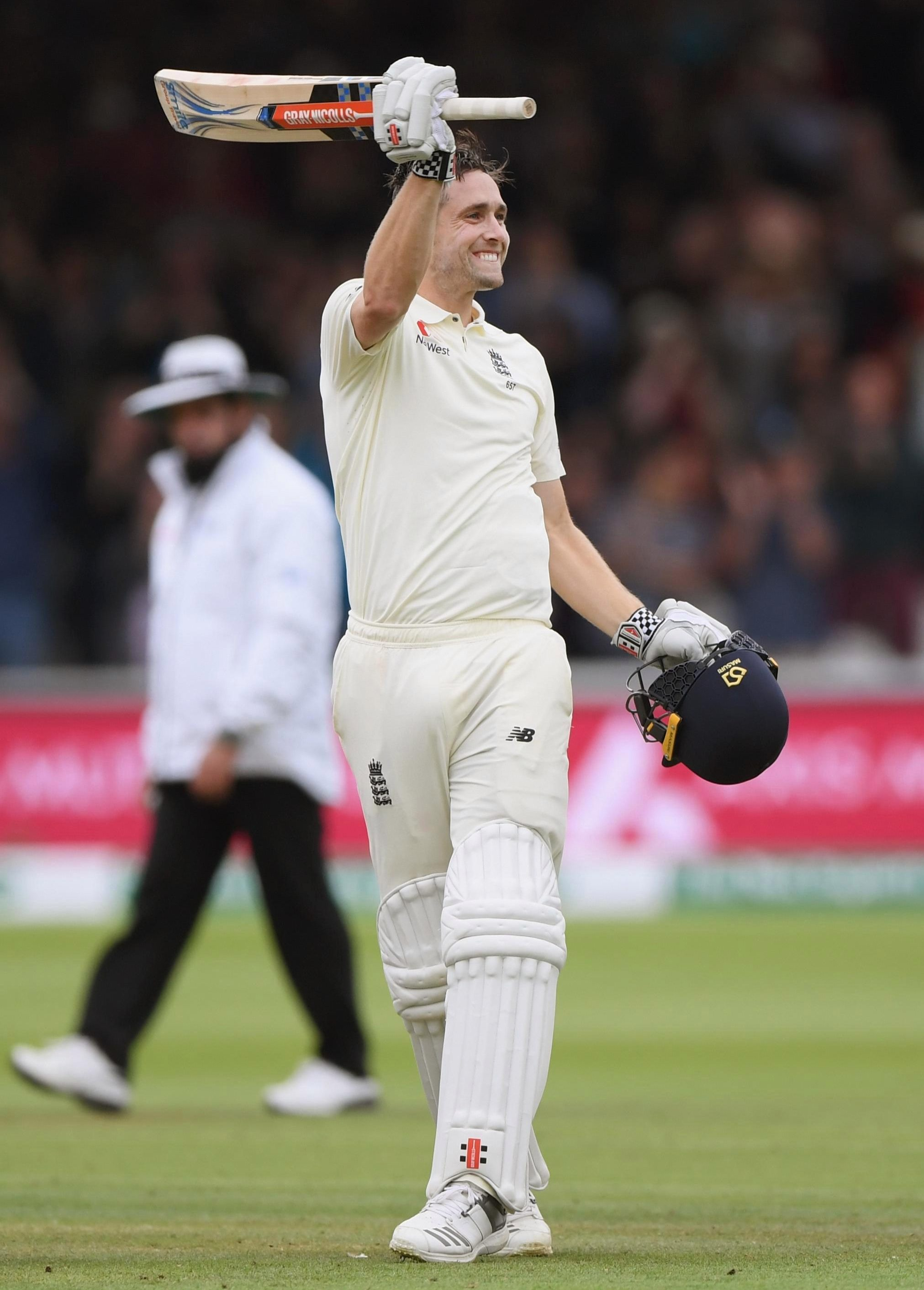 Woakes ended the day with an unbeaten 120