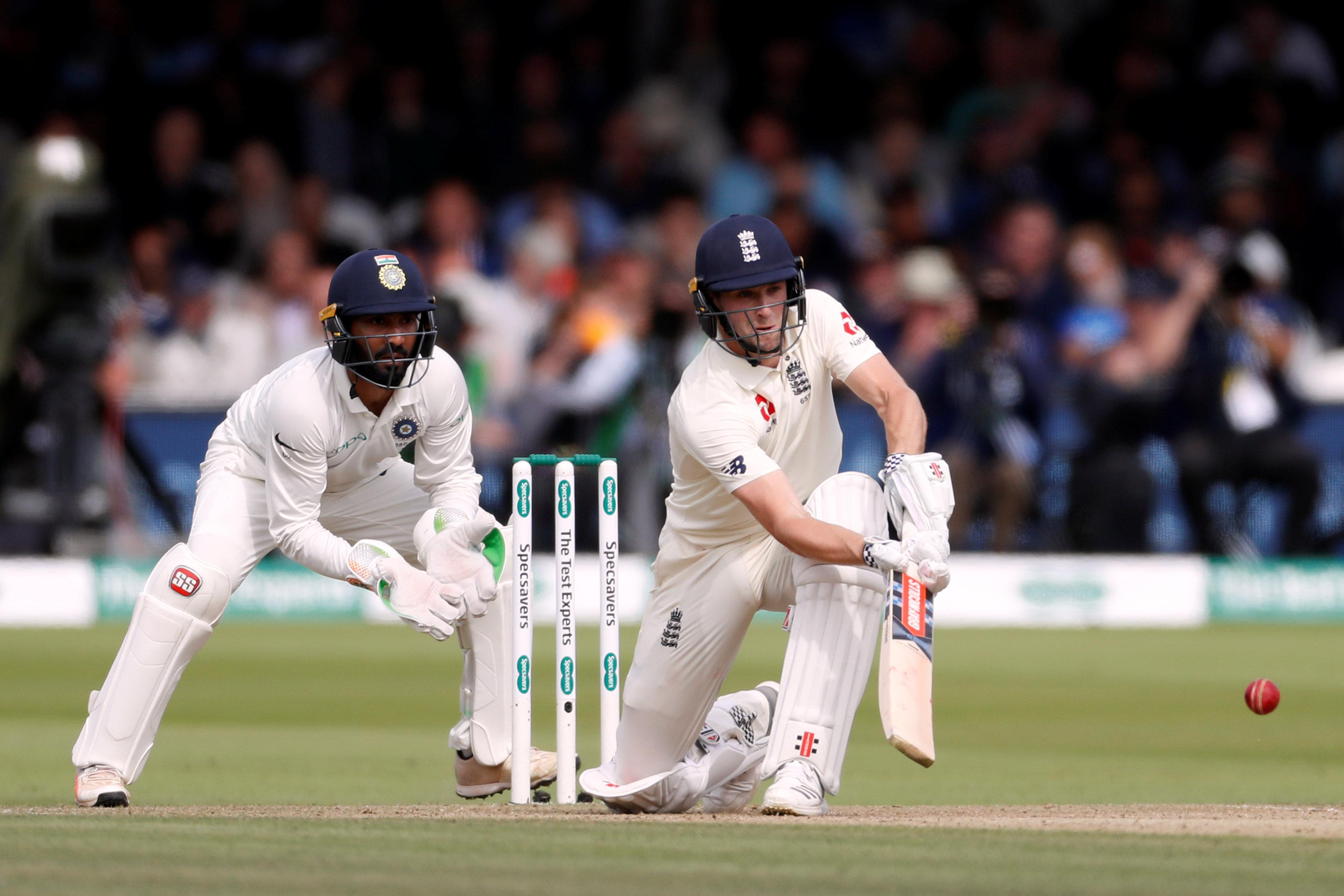 Chris Woakes scored his maiden Test century at Lord's