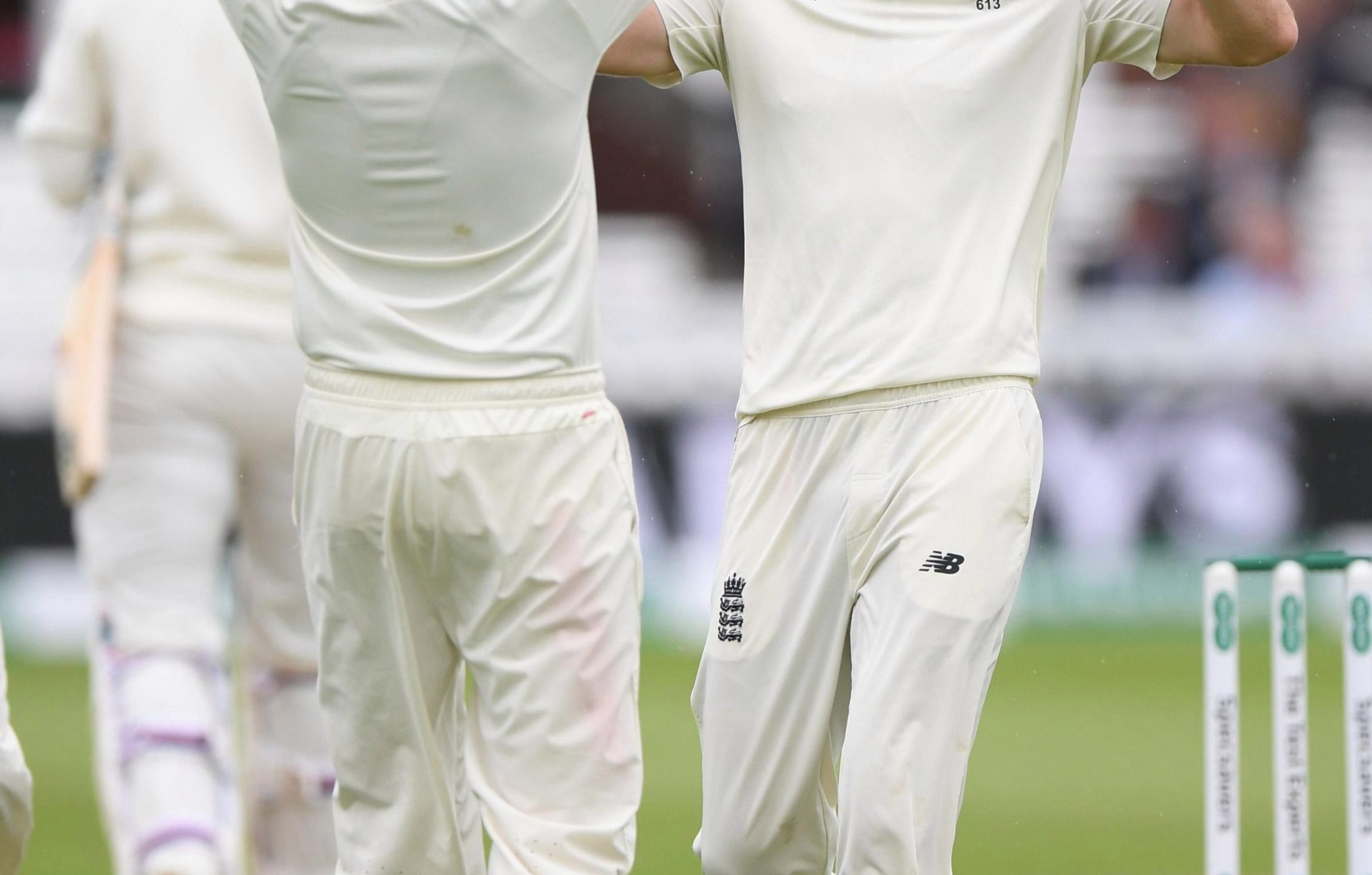 Joe Root is first to salute James Anderson as the pace legend dismisses Lokesh Rahul on the way to another amazing milestone - 100 Test wickets at Lord's