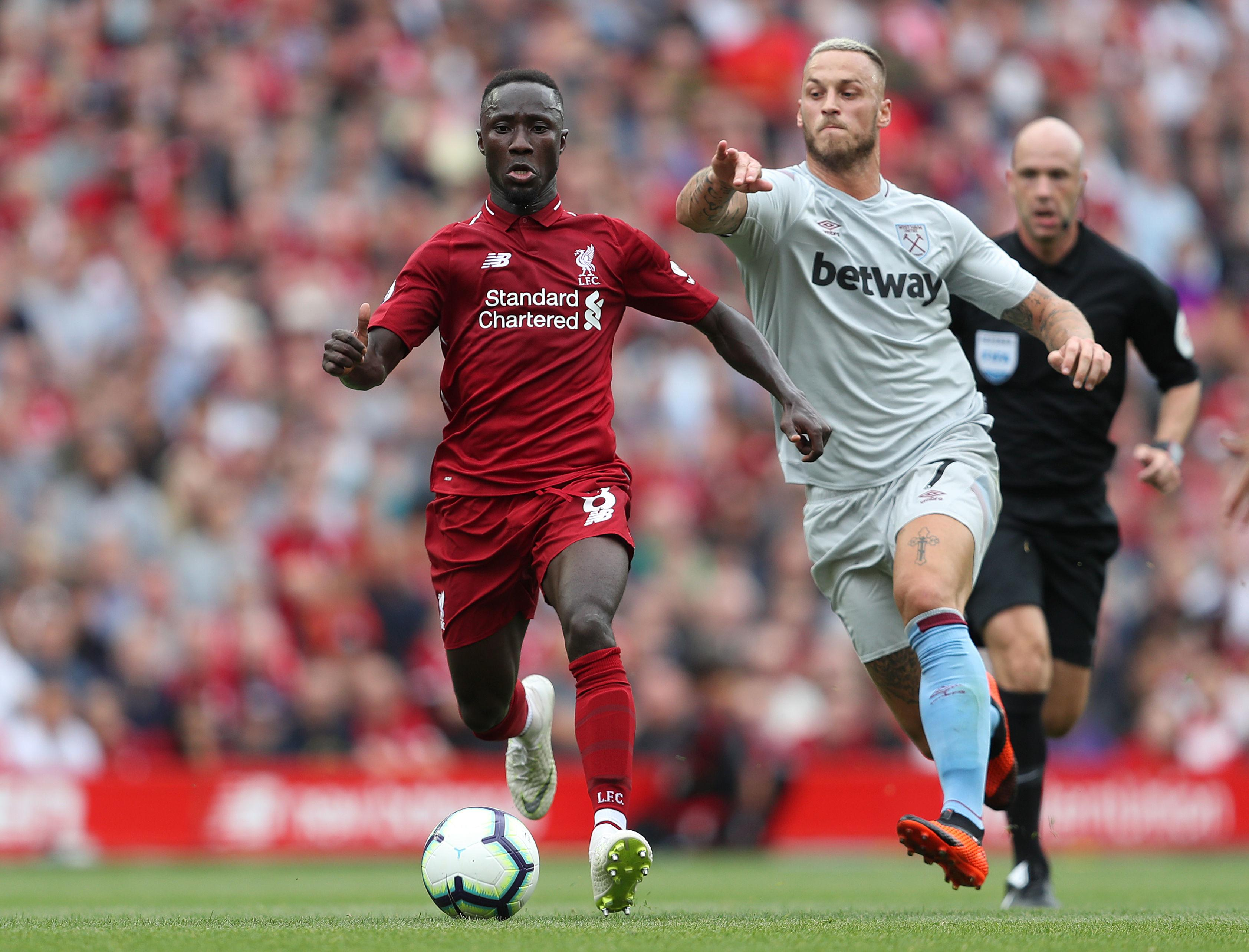 Naby Keita slipped seamlessly into Liverpool's team for his Premier League debut