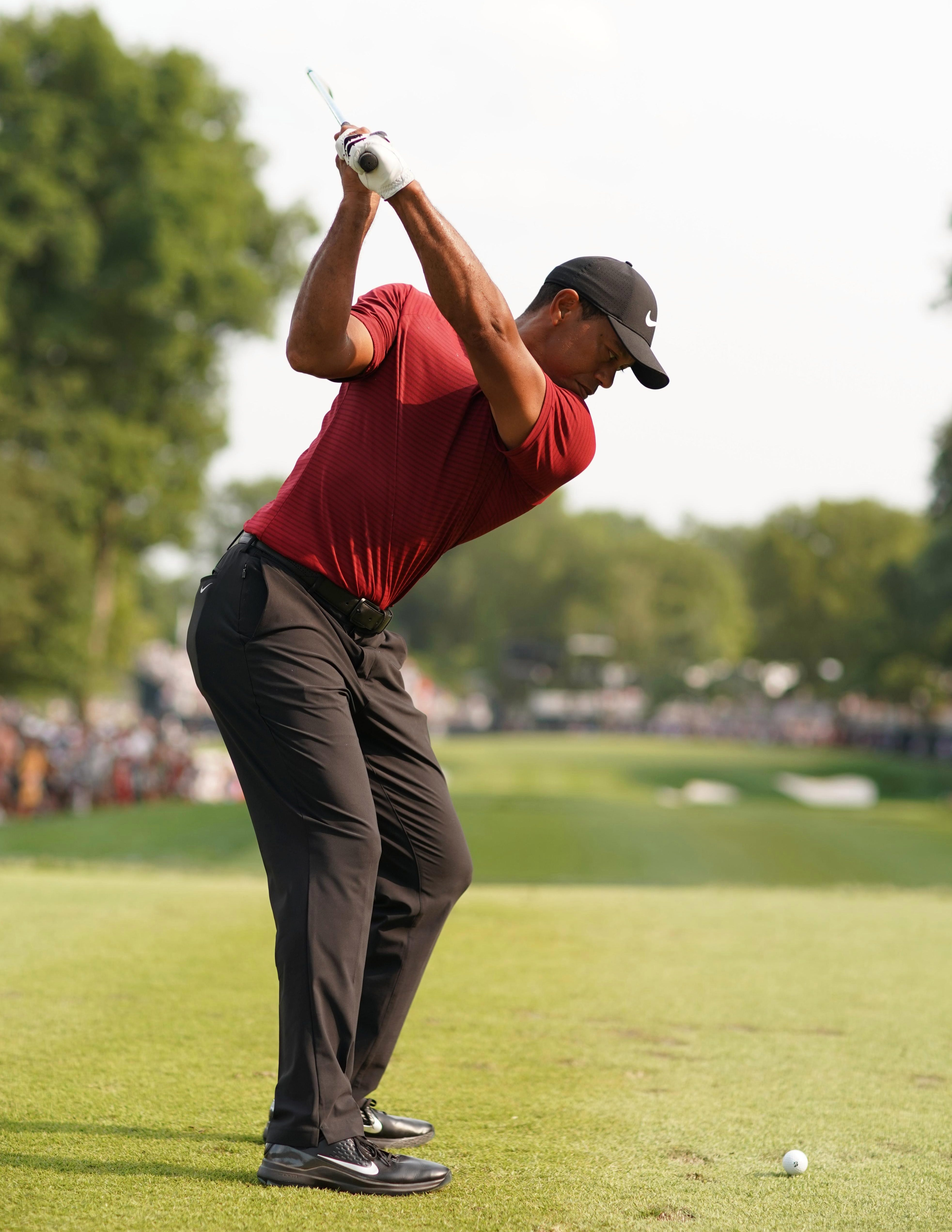 Tiger Woods has improved all term - dramatically so at the US PGA Championship