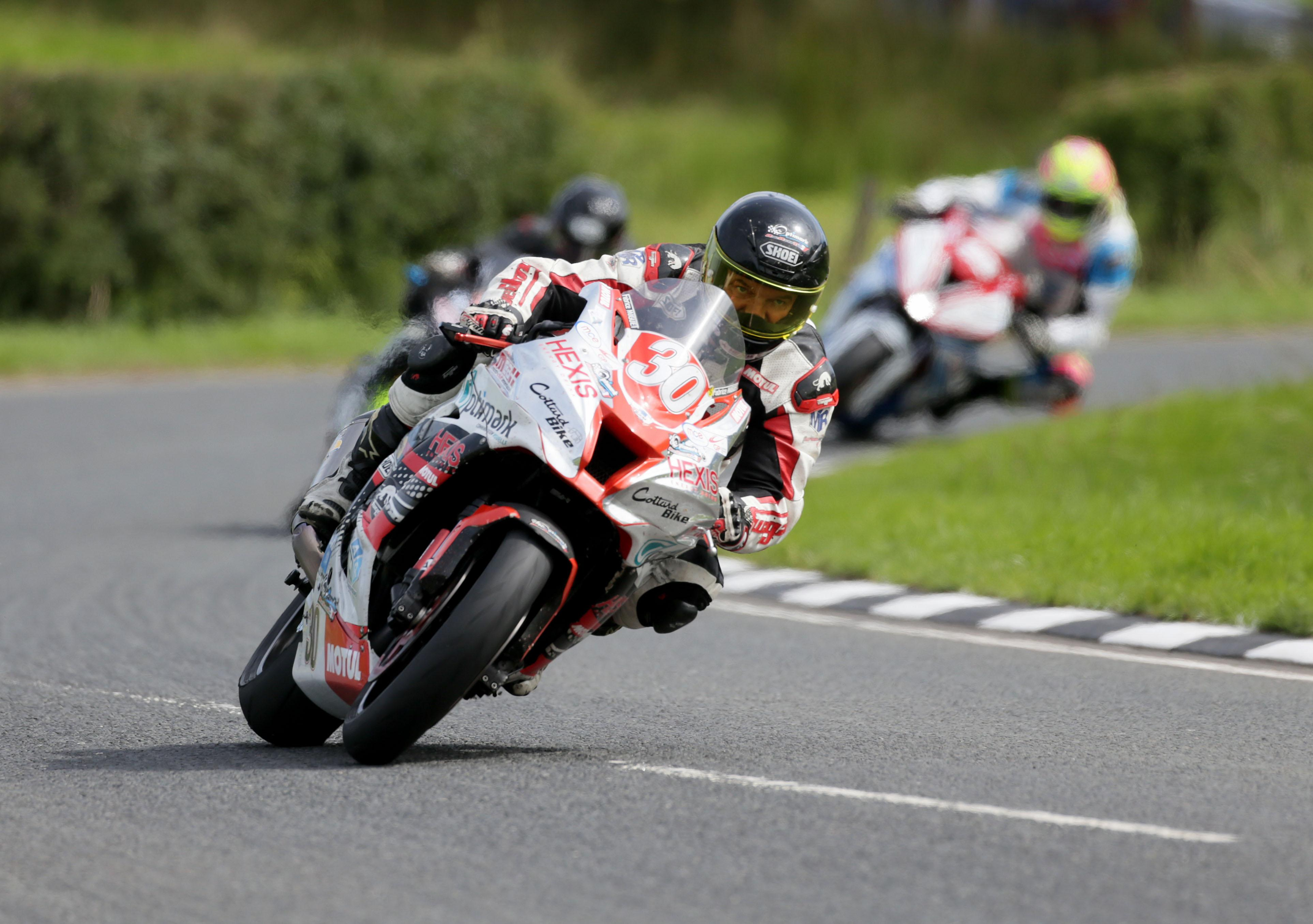 Miguet crashed on Saturday at the Ulster Grand Prix