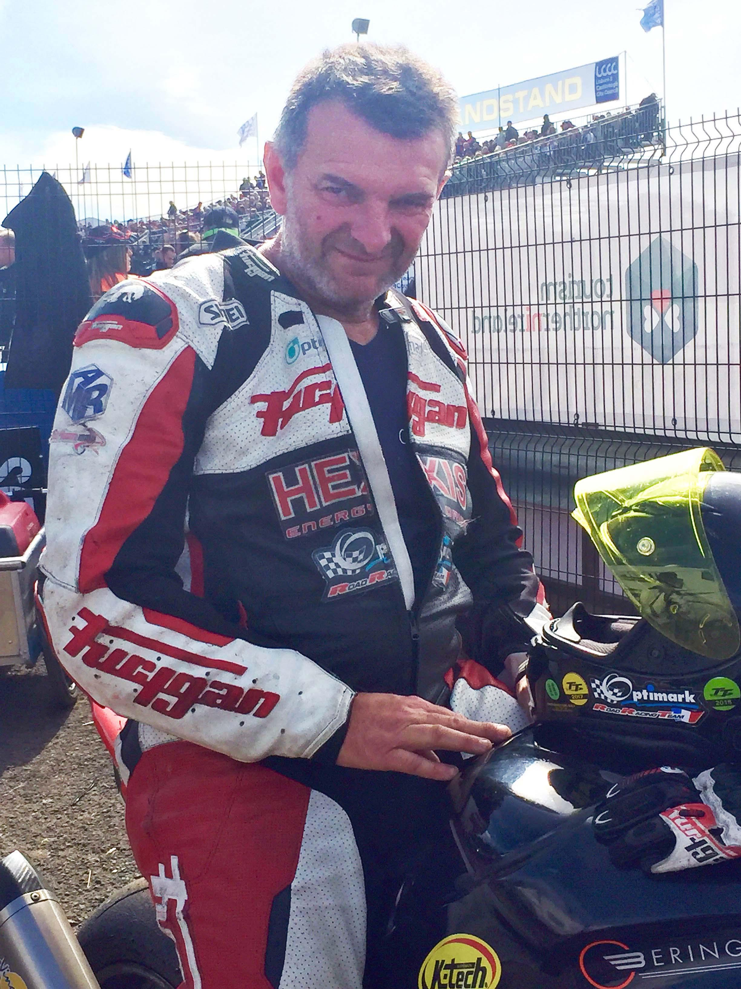The French rider was a regular at the Ulster Grand Prix and Isle of Man TT road races