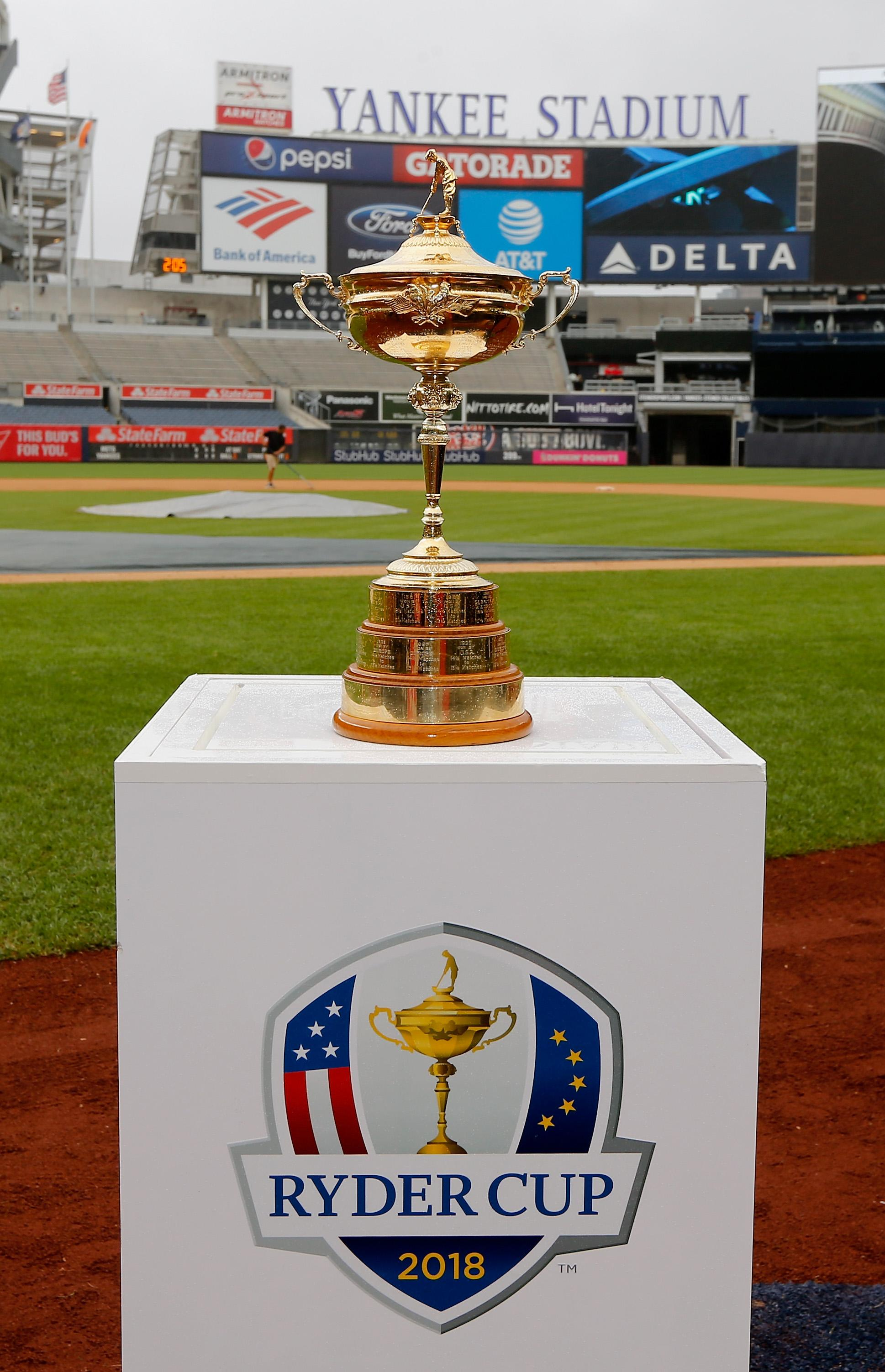 The Ryder Cup is up for grabs at Le Golf National
