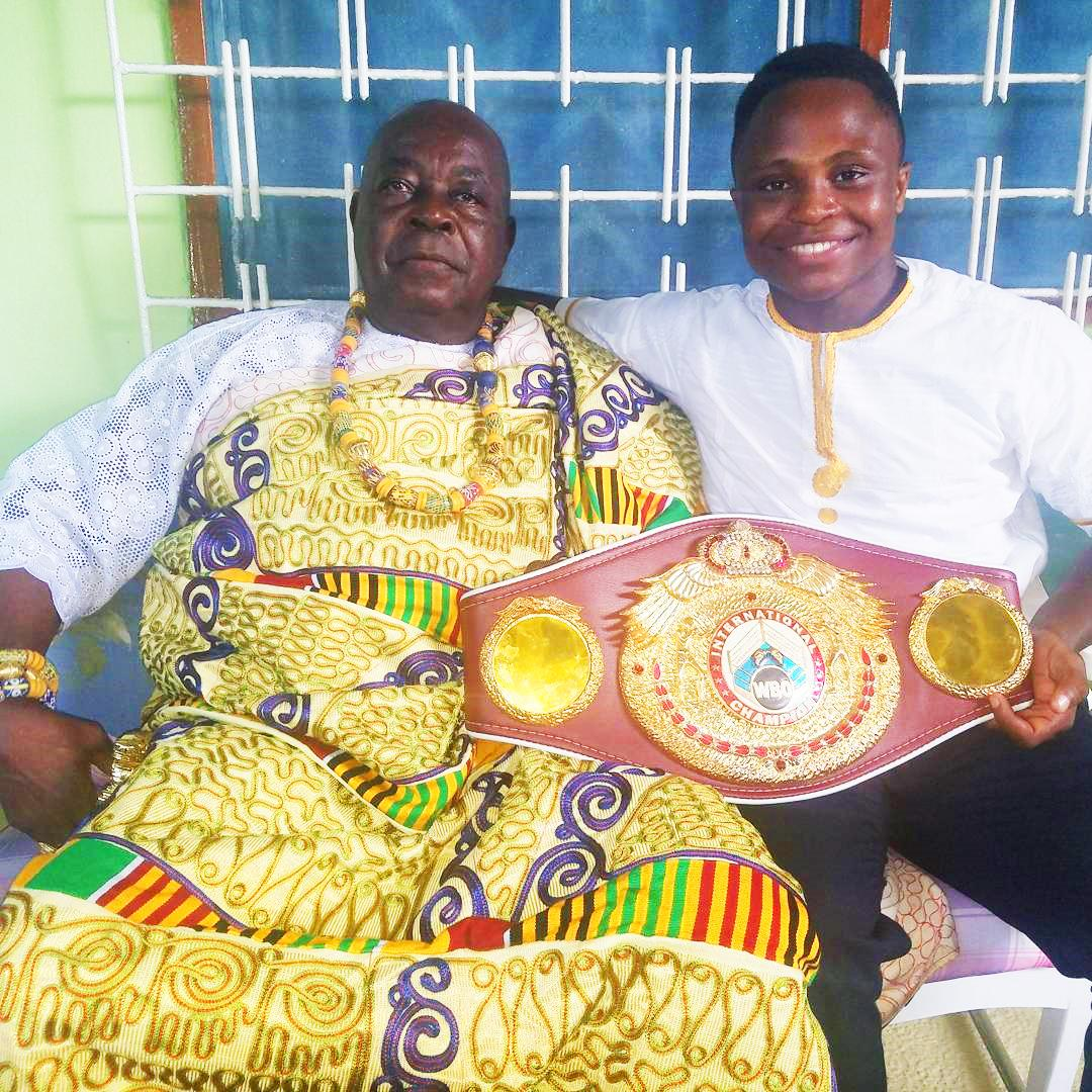 Isaac Dogboe is on a mission to fulfil a promise to his grandfather who sent him to London for a better life