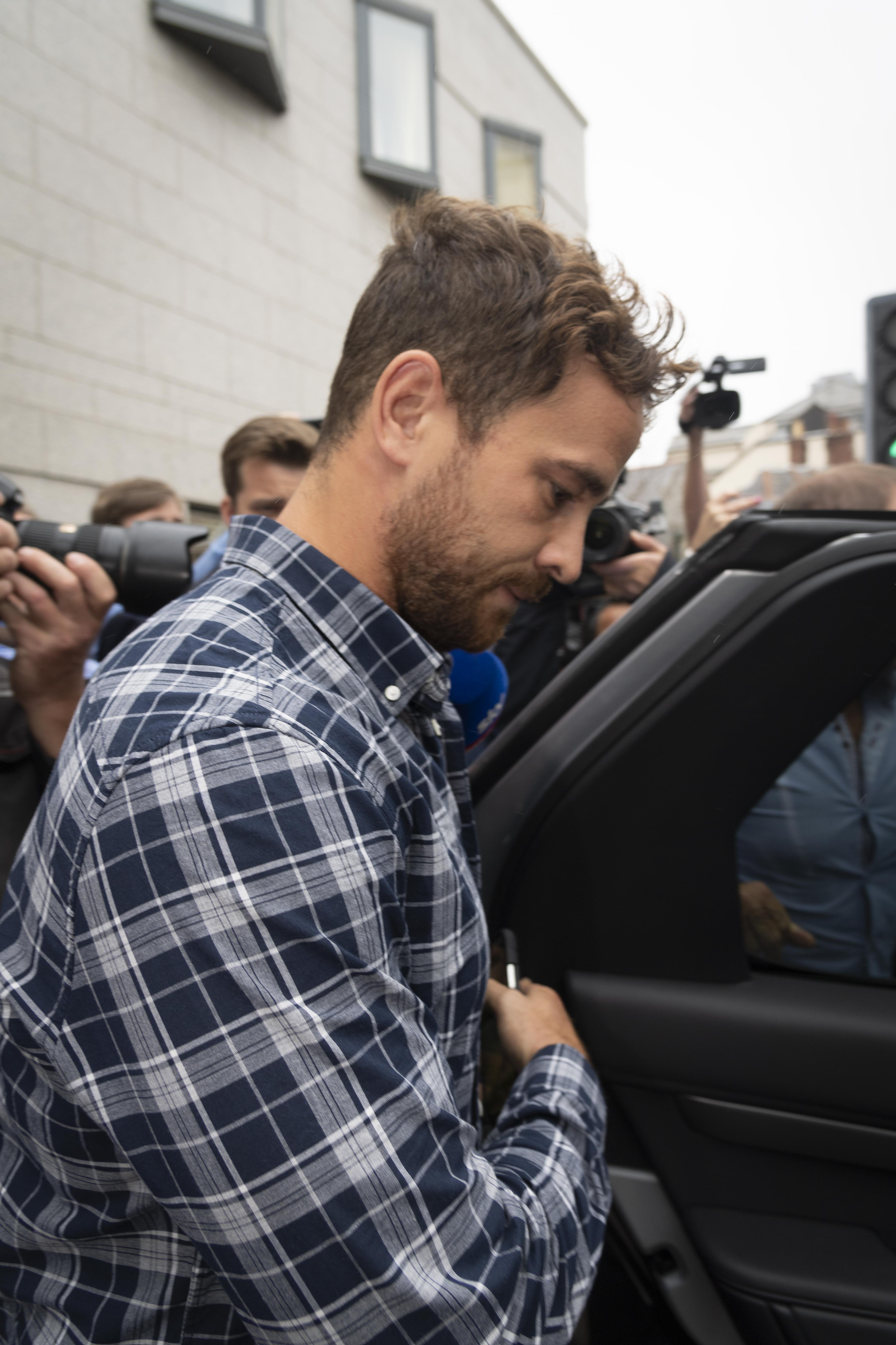 Cipriani pleaded guilty to five charges after his assault in a Jersey nightclub