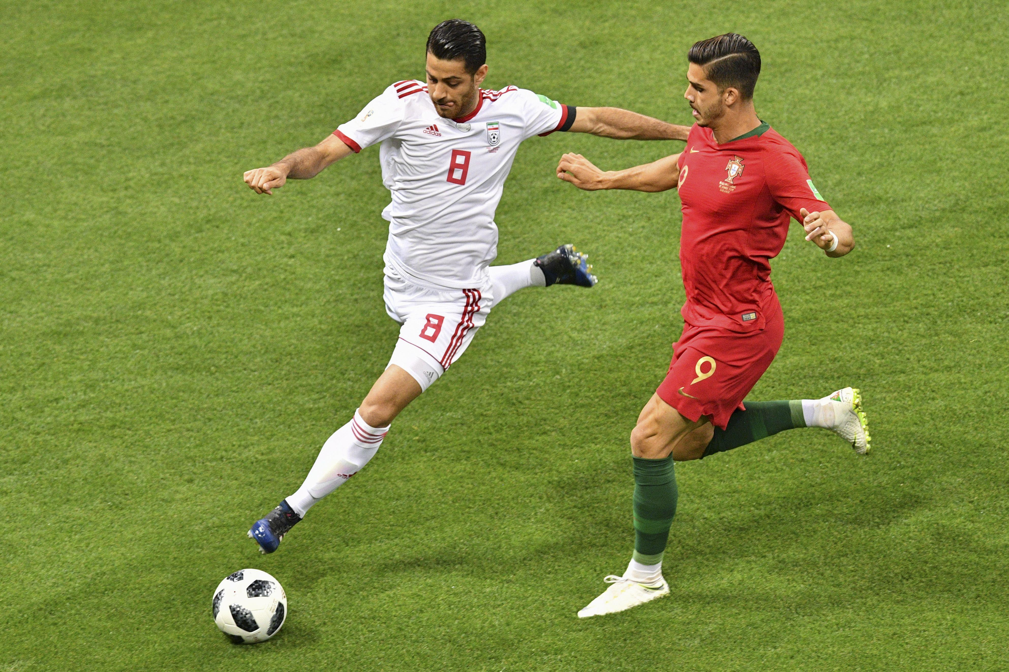 Morteza Pouraliganji played every minute of Iran's World Cup campaign