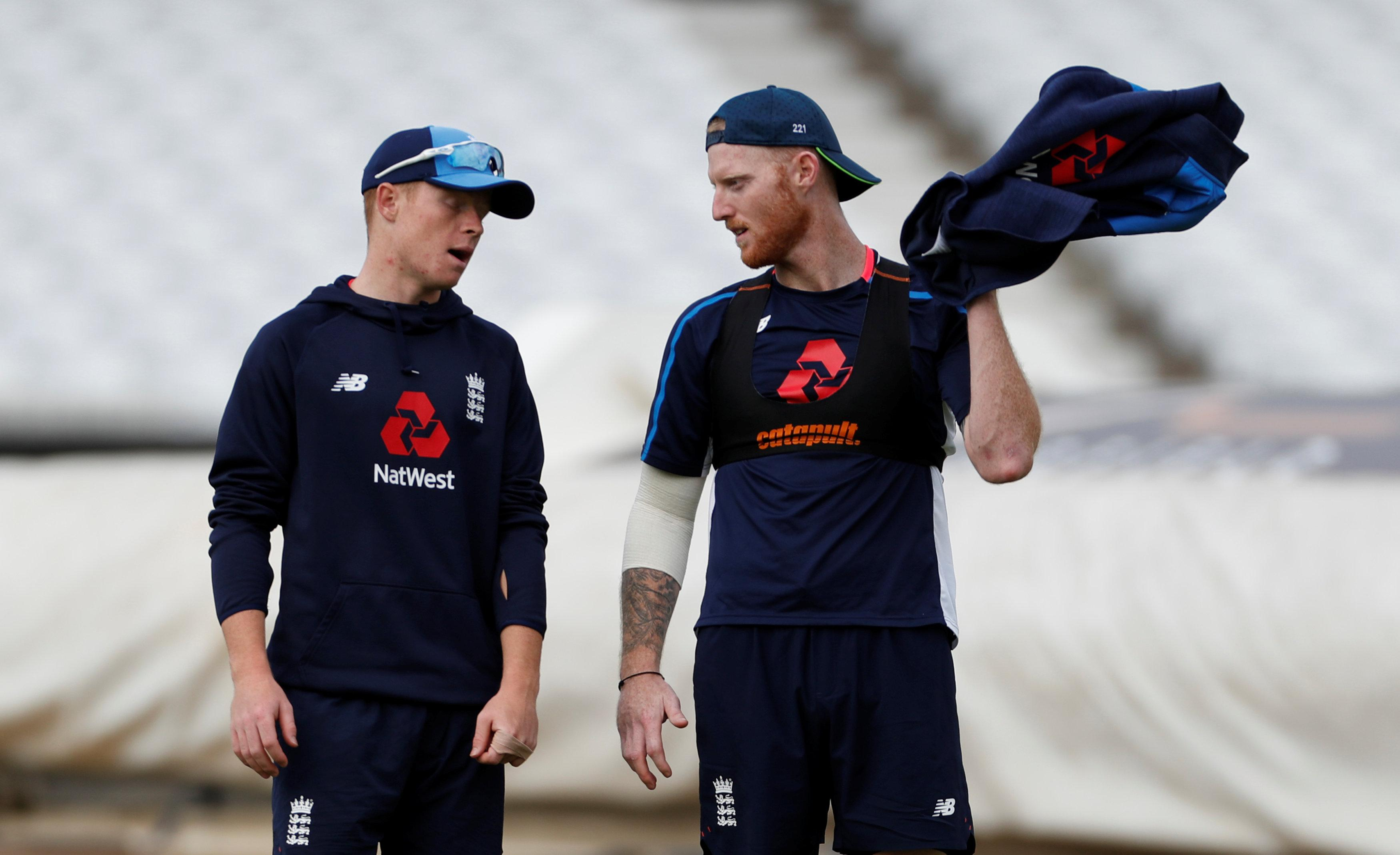 Ben Stokes is set to bat at No5 in the game, with Jonny Bairstow at No4