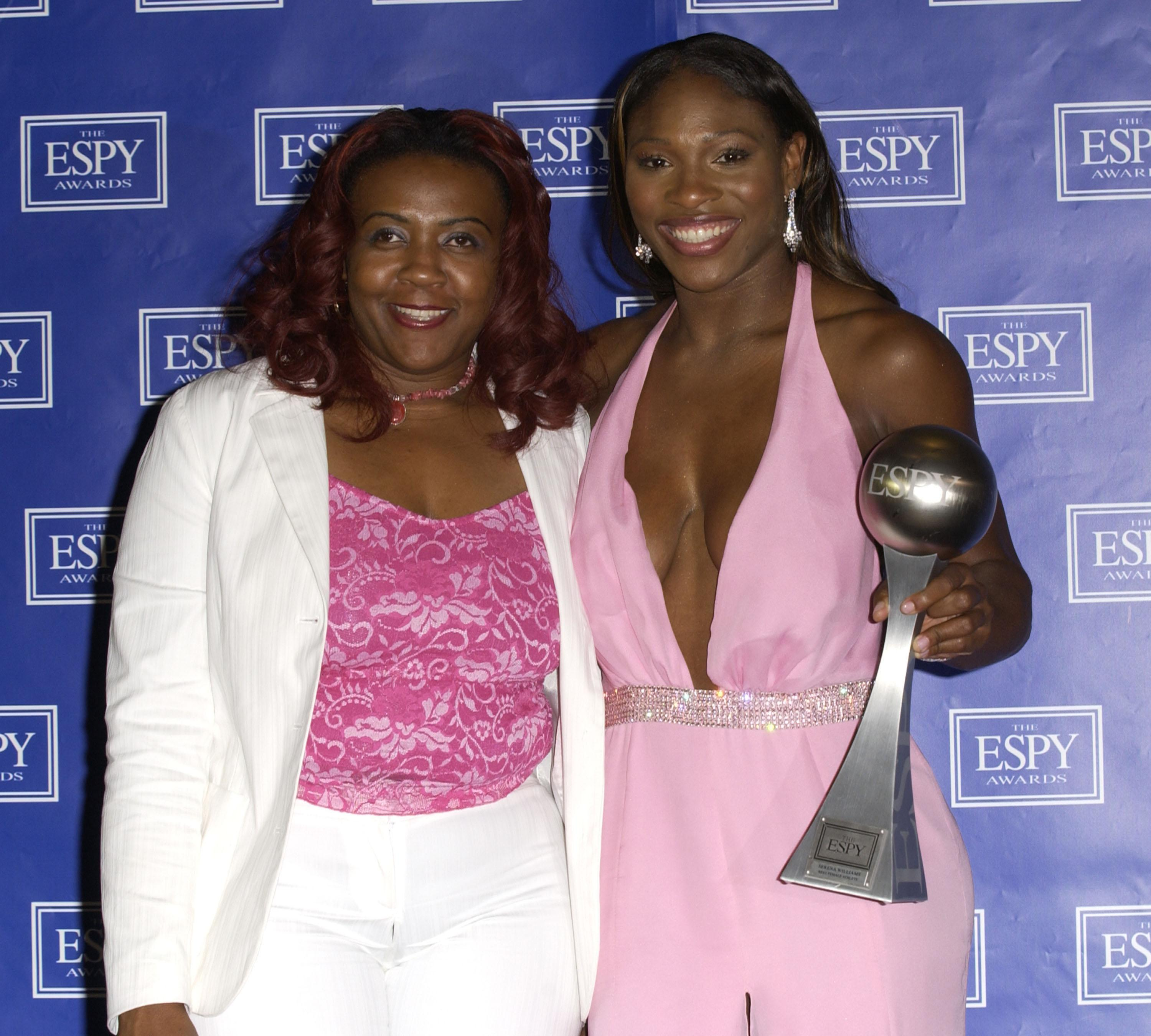 Serena Williams, right, revealed she learned that her sister's killer had been released before playing the worst match of her career