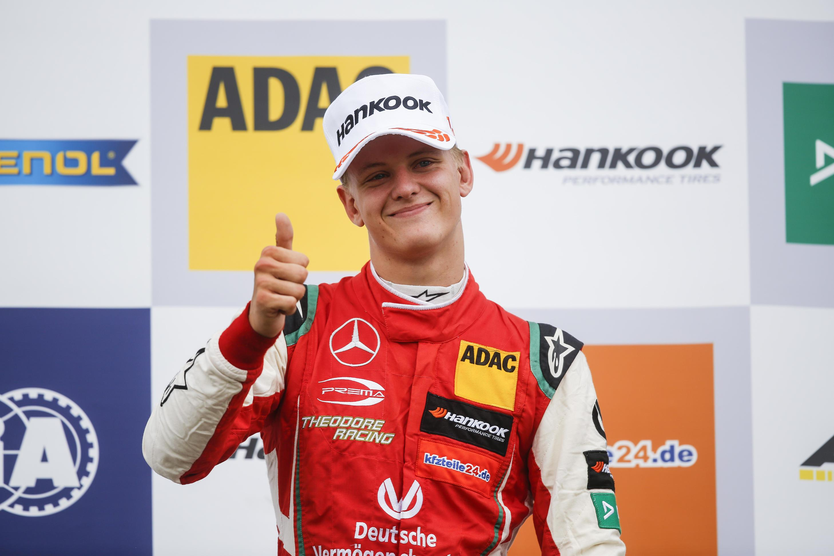 Mick Schumacher is hoping to follow dad Michael into F1