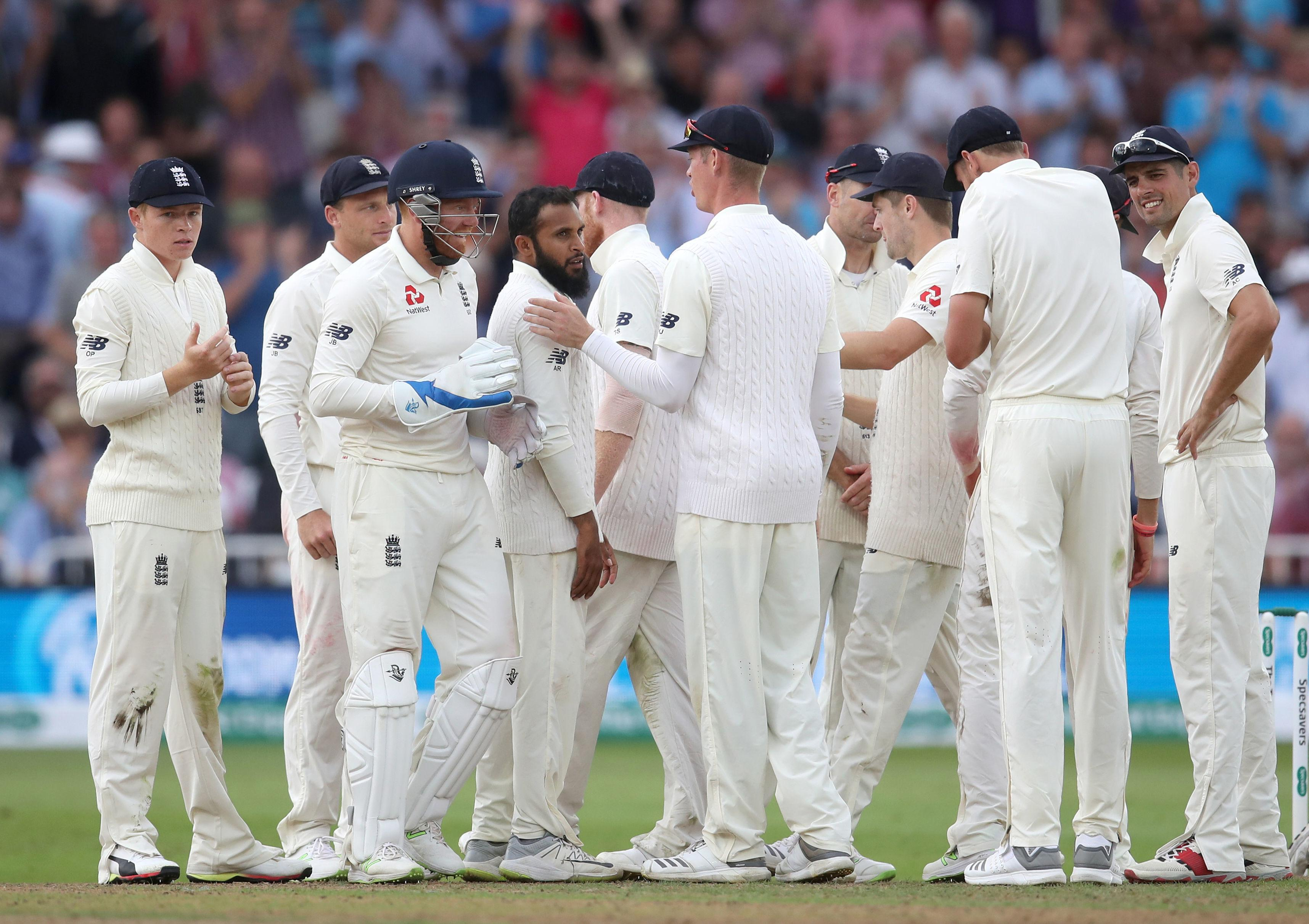 England managed to take six wickets on the opening day at Trent Bridge