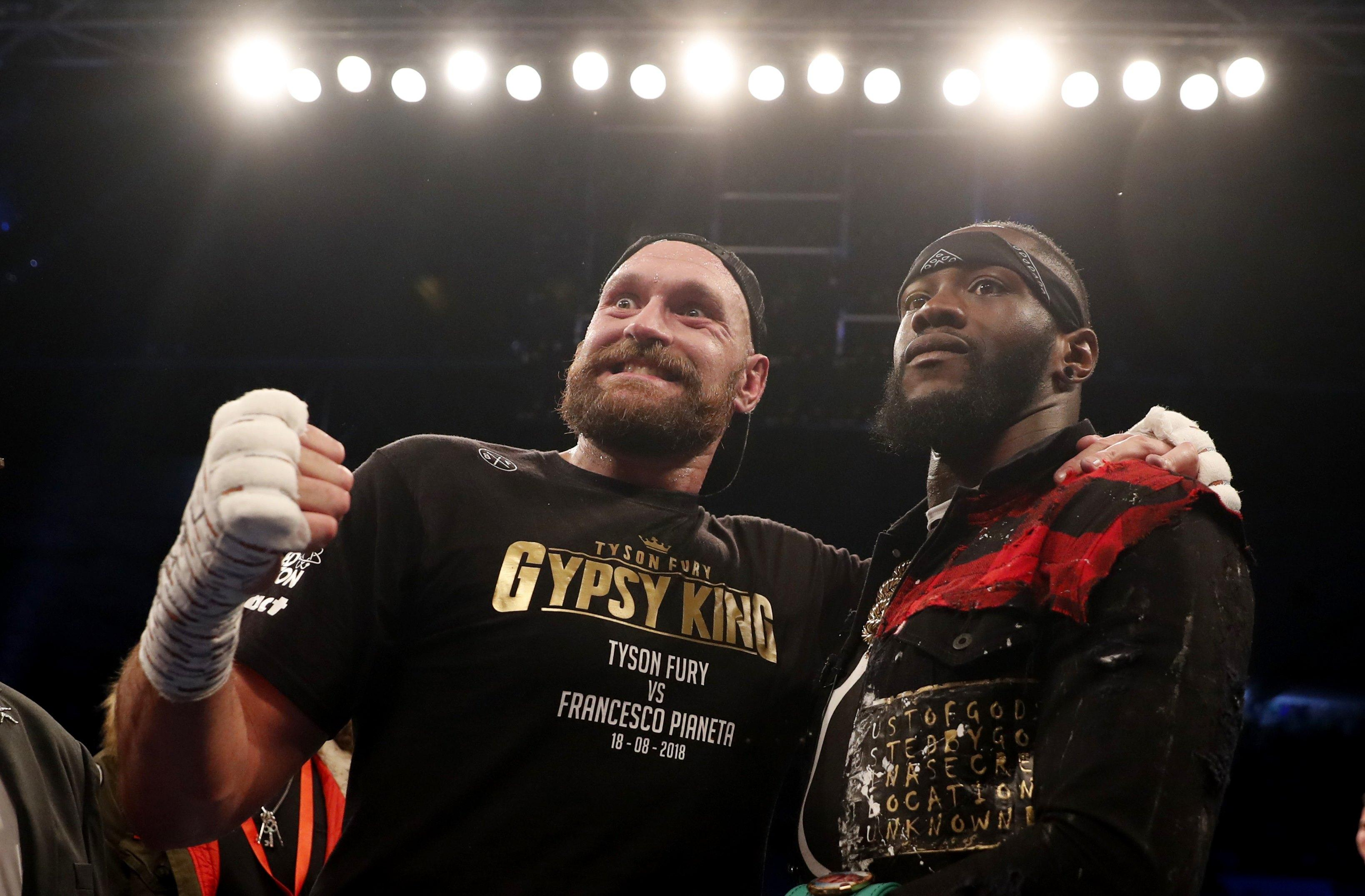 Tyson Fury and Deontay Wilder will fight in Las Vegas later this year