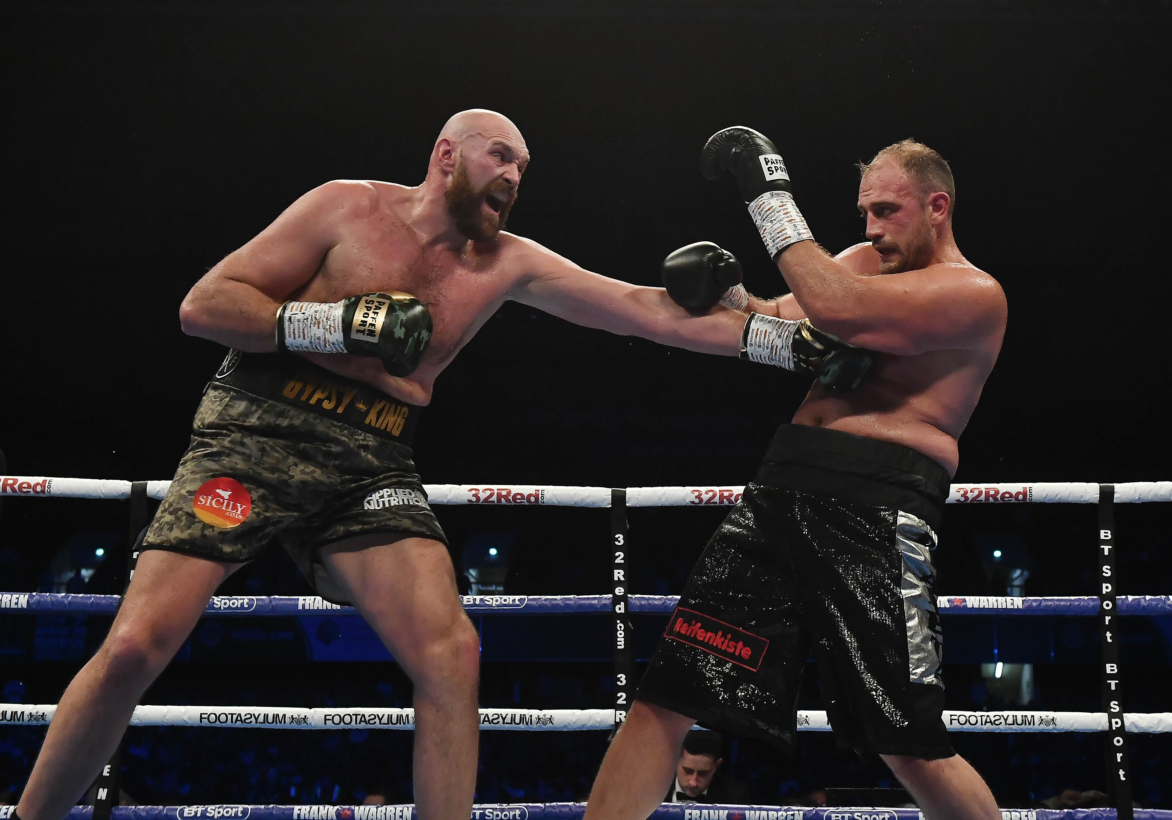 Tyson Fury was never troubled as he cruised past Francesco Pianeta in Belfast
