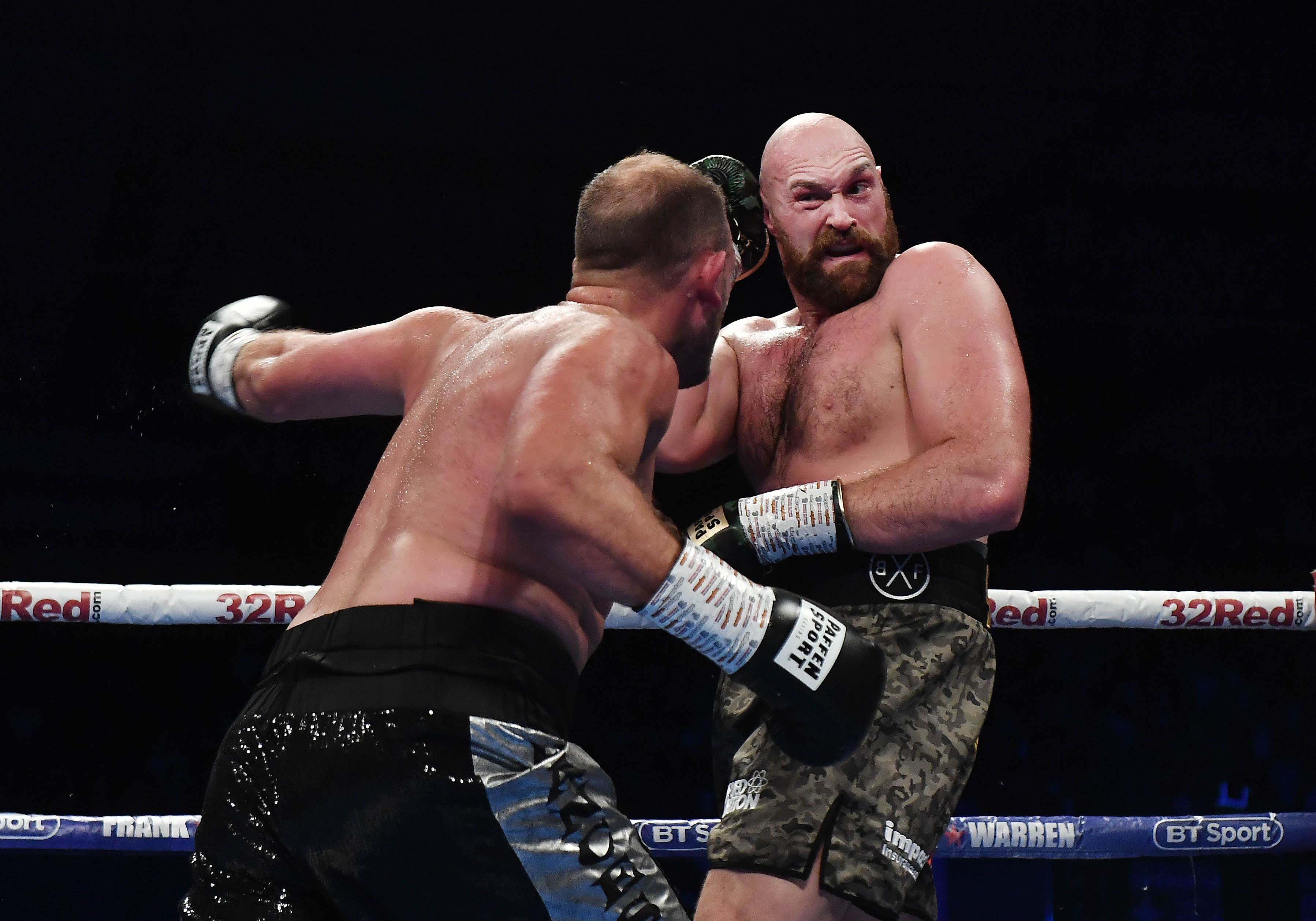 Tyson Fury is only two fights into his big boxing comeback - but has a crack at the WBC king next