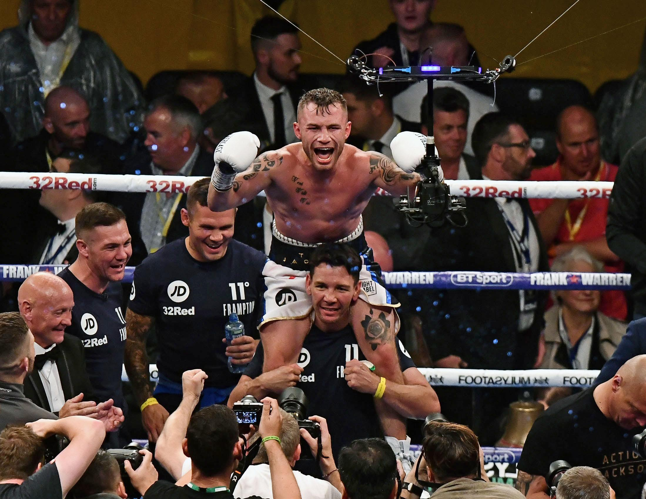 Carl Frampton issued a social media plea to catch a thief who nicked one of his most treasured possessions