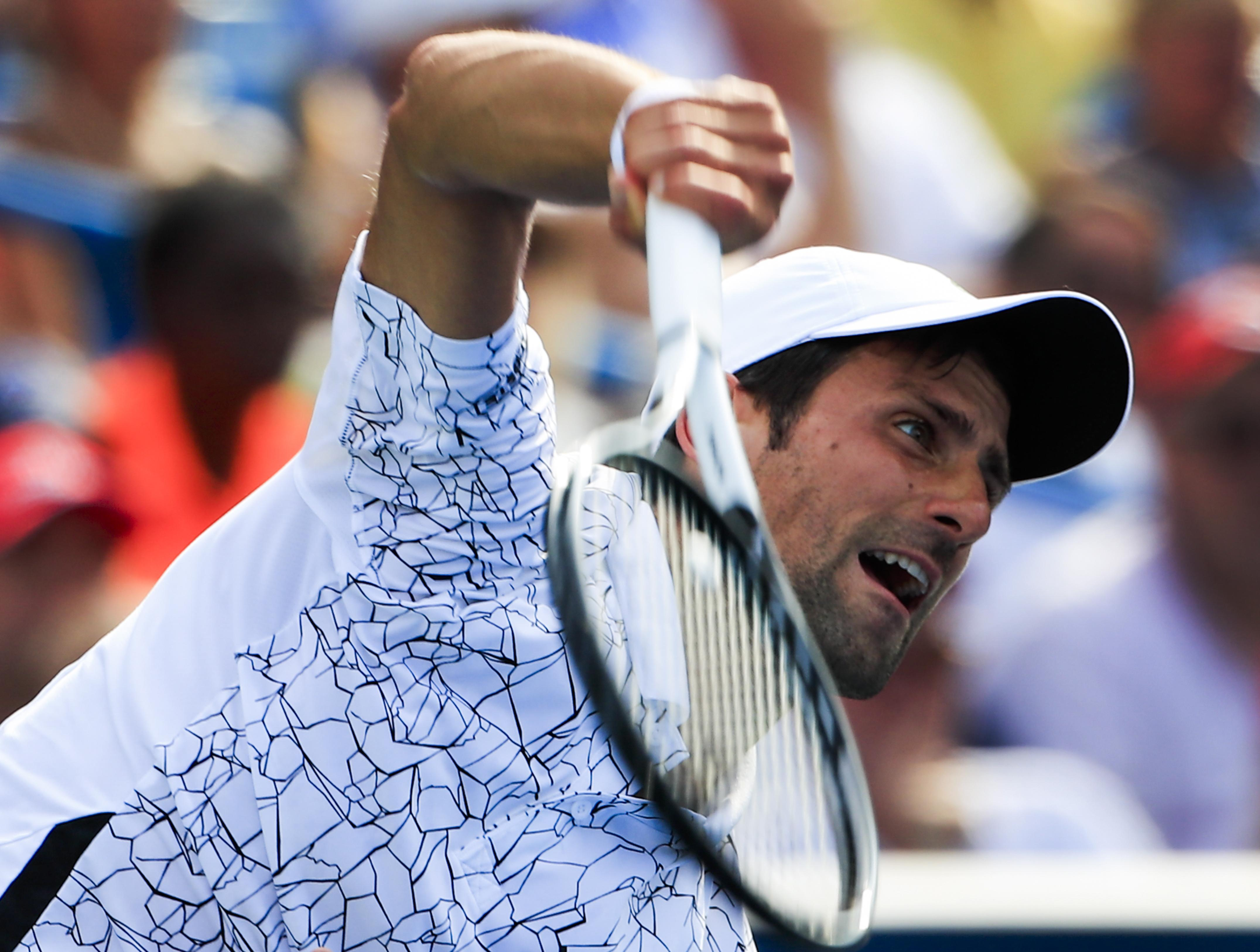 Djokovic gave Federer a lifeline when he doubt faulted early in the second set