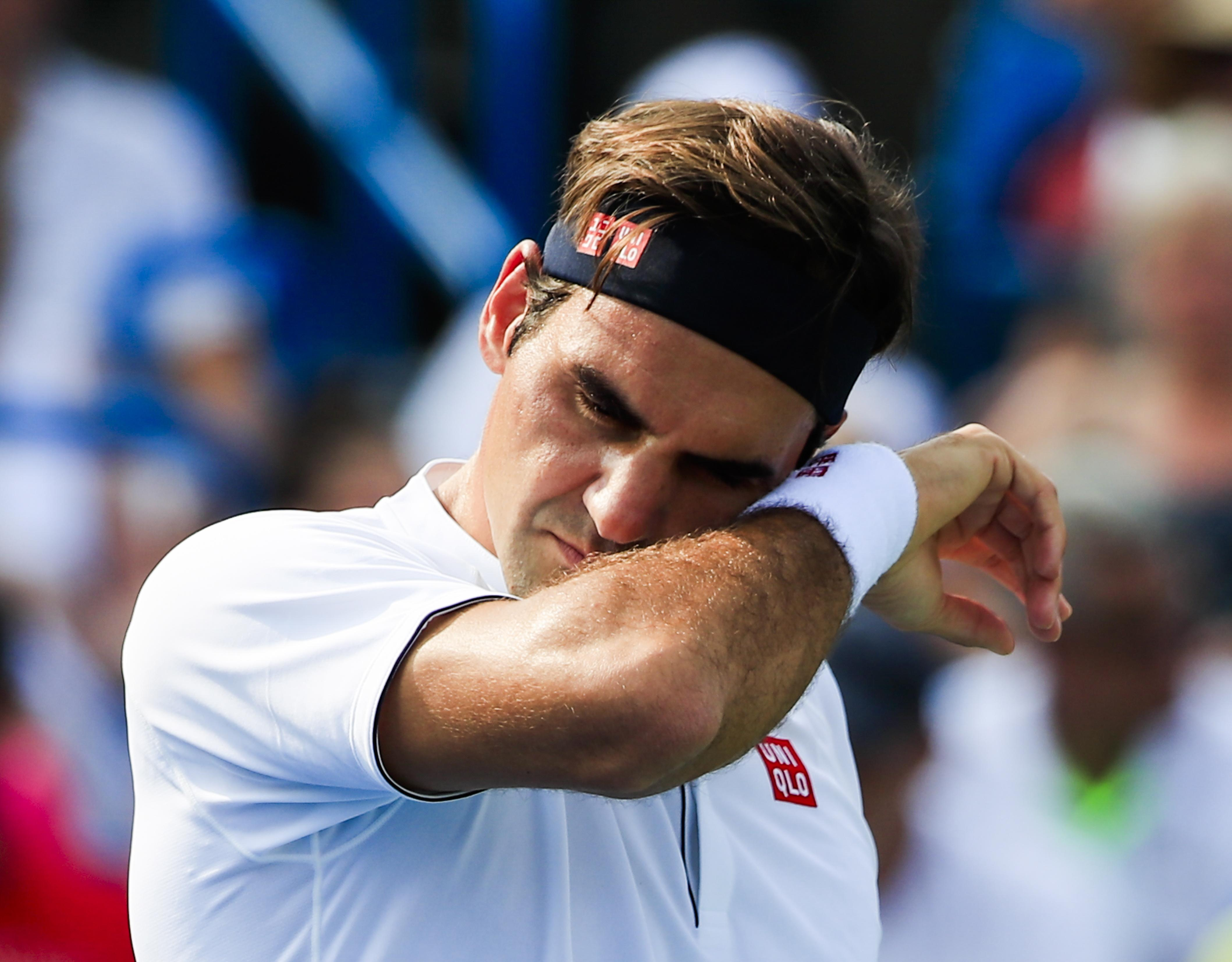 Federer made an uncharacteristic 39 unforced errors