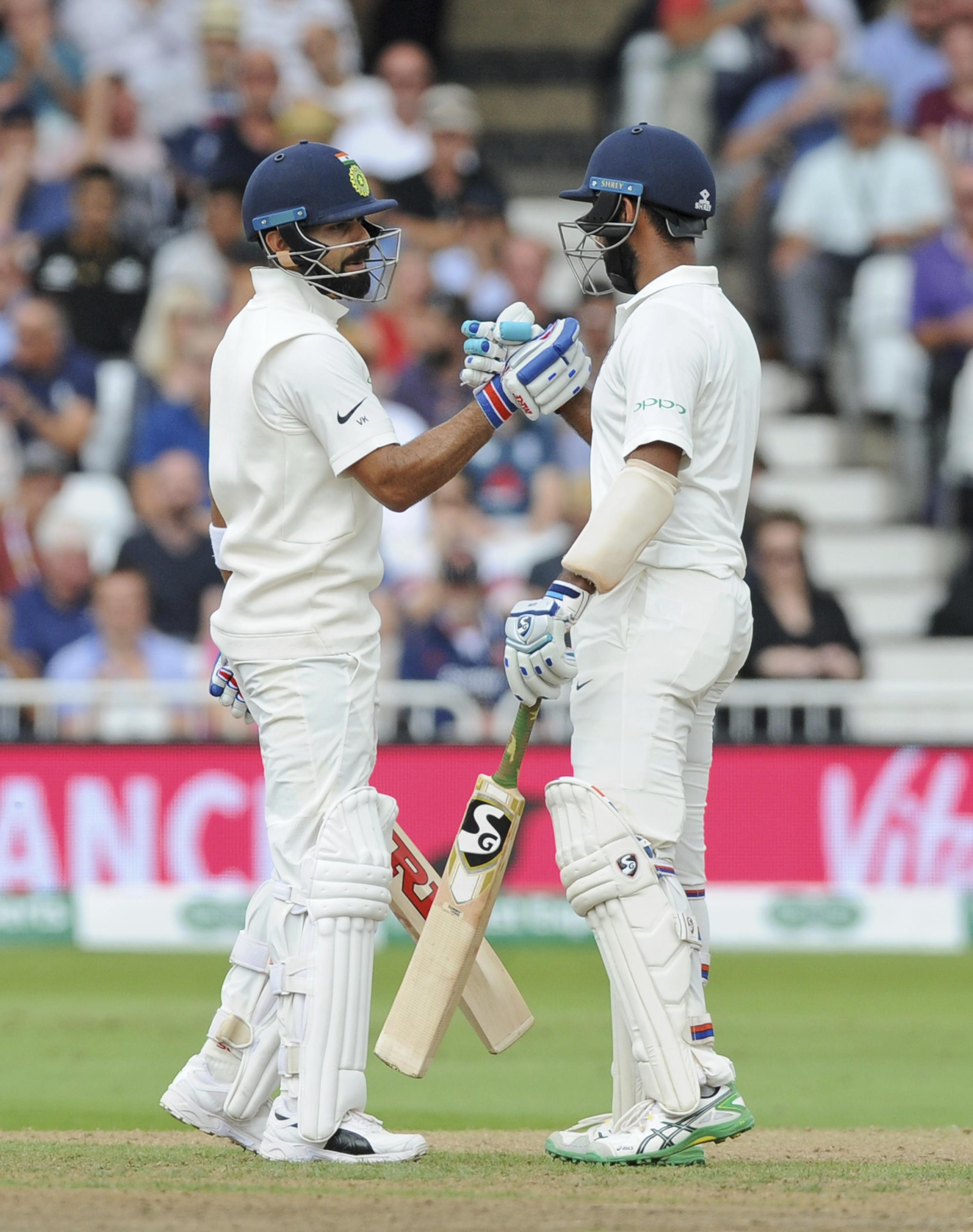 England vs India provided a little piece of Test cricketing history