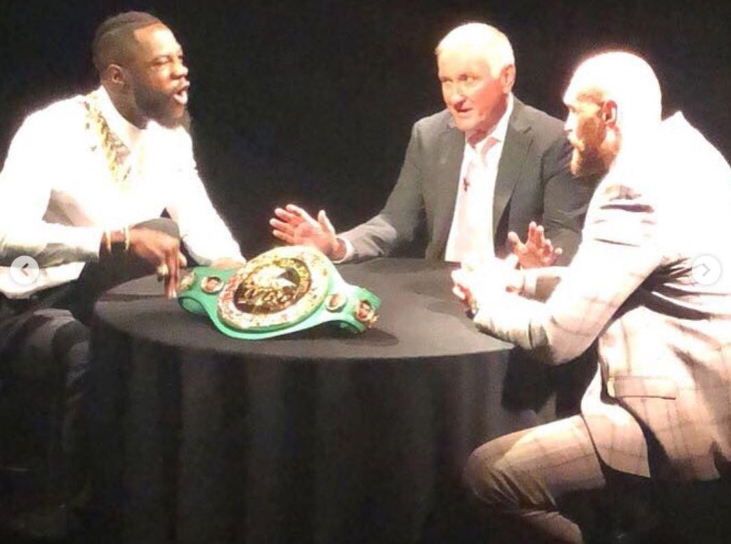 Heavyweight rivals Wilder and Fury will put their unbeaten records on the line inside the ring
