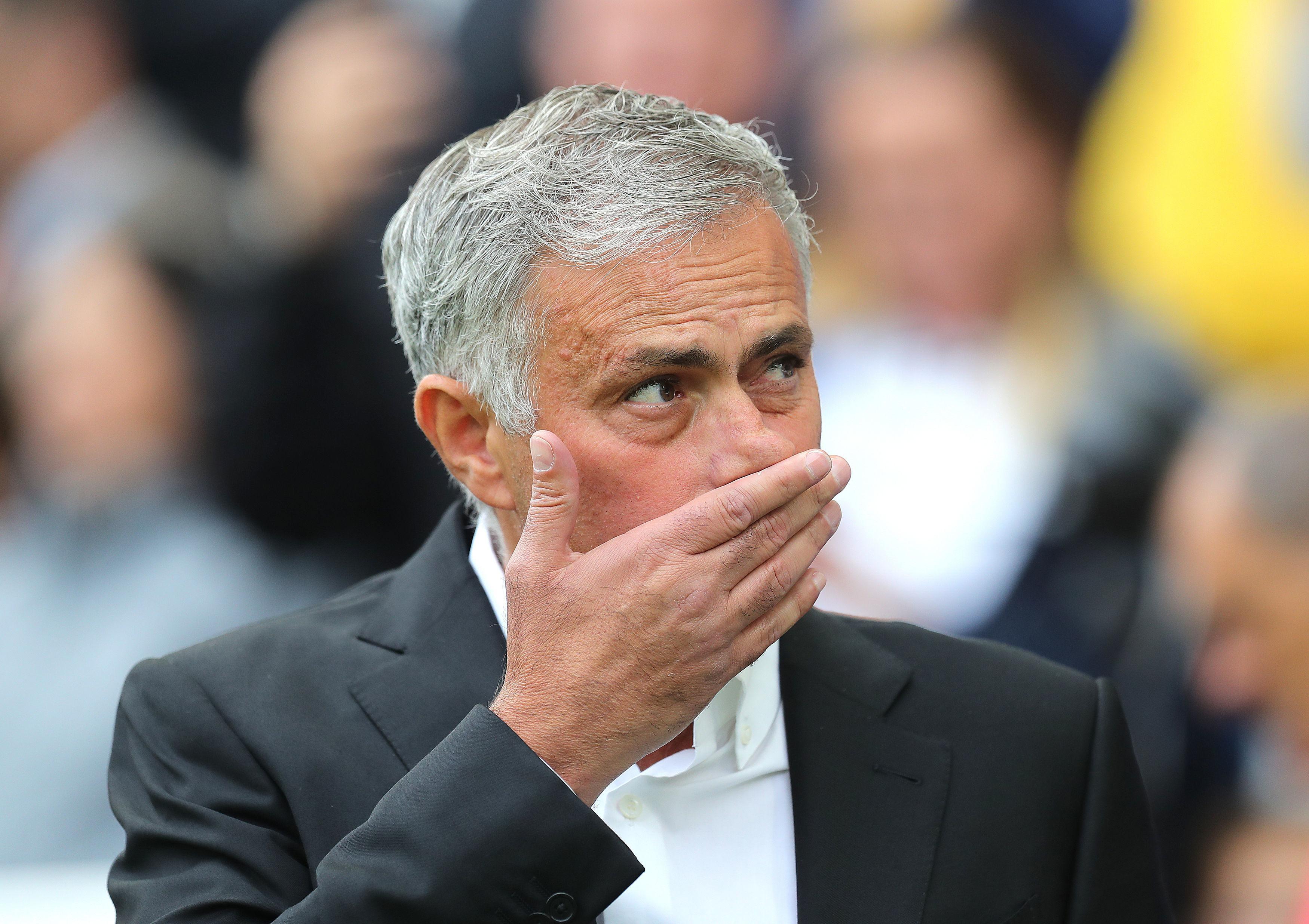 Mourinho has a tough test against Tottenham this weekend