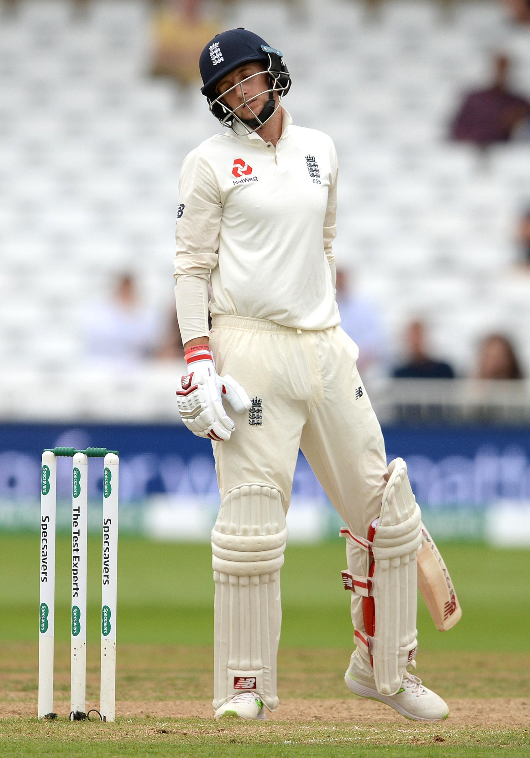 England's top order were taken apart by India