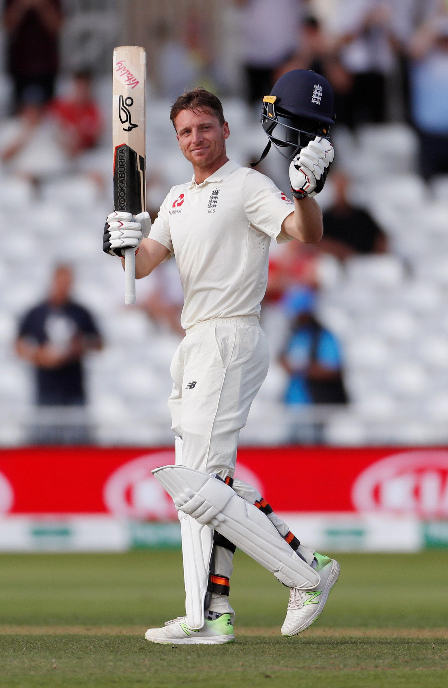Jos Buttler scored a maiden Test hundred but surely hasn't saved England