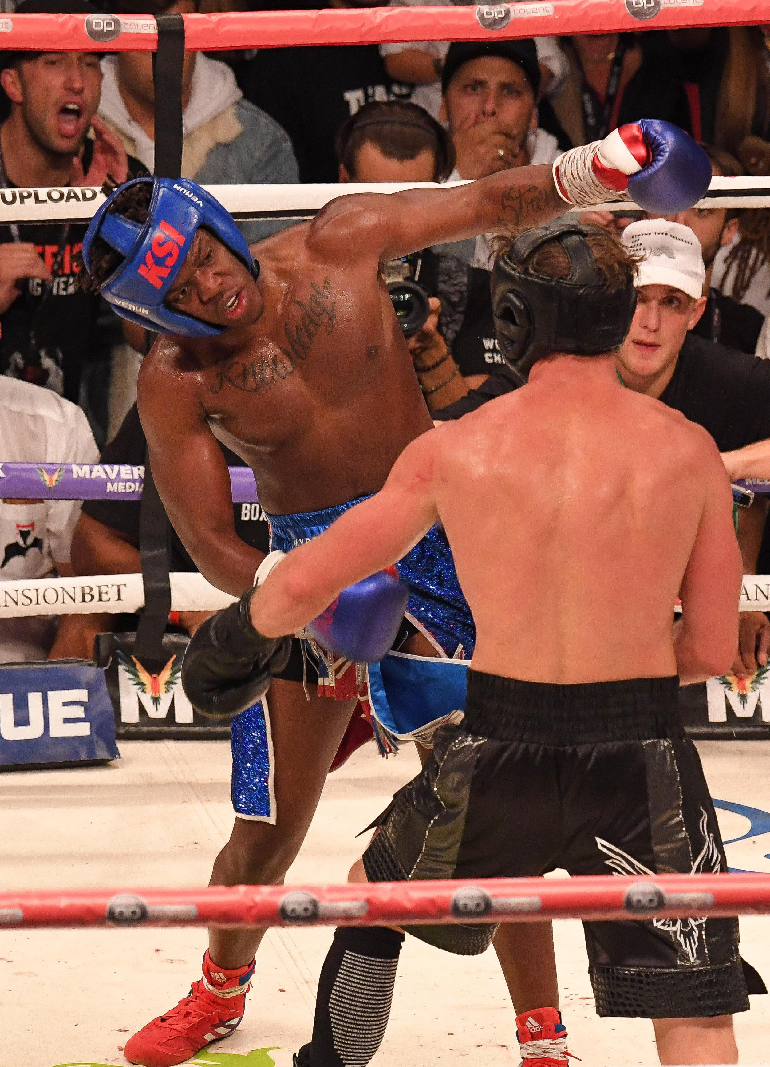 KSI is hoping to postpone his rematch with Logan Paul until May 2019