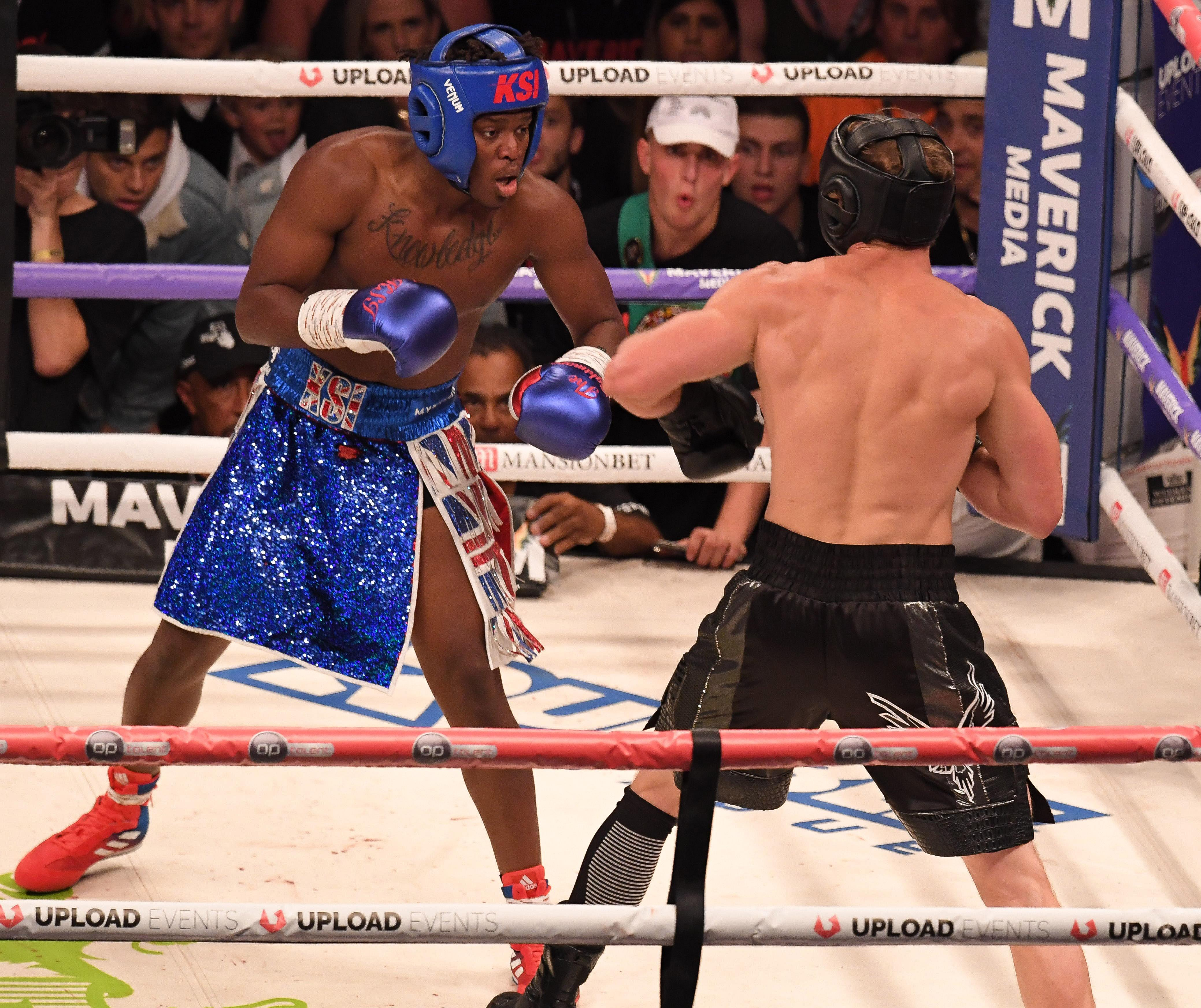 KSI added he hopes the fight will take place in New York City