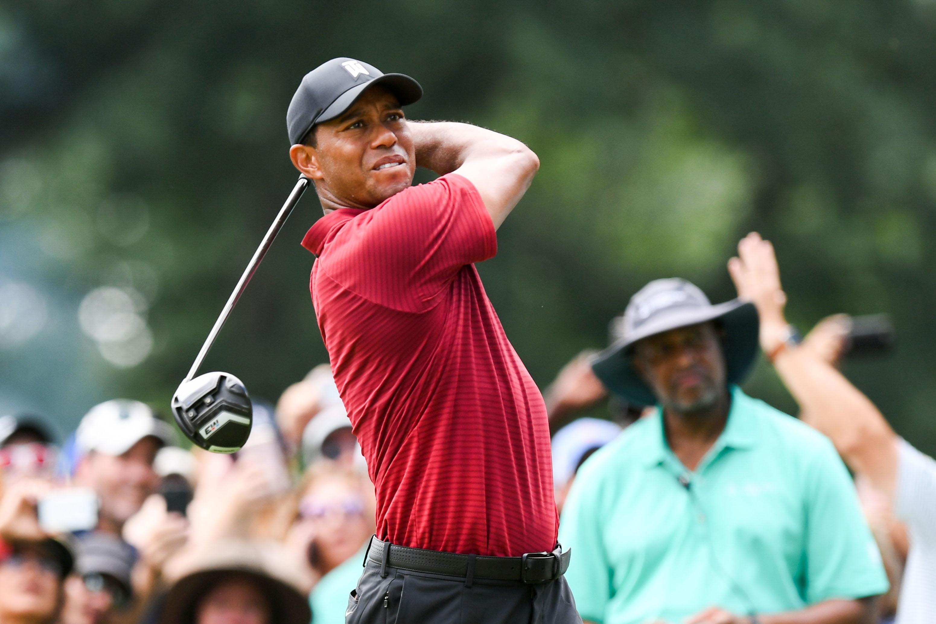 Tiger Woods has defended his close friendship with Donald Trump