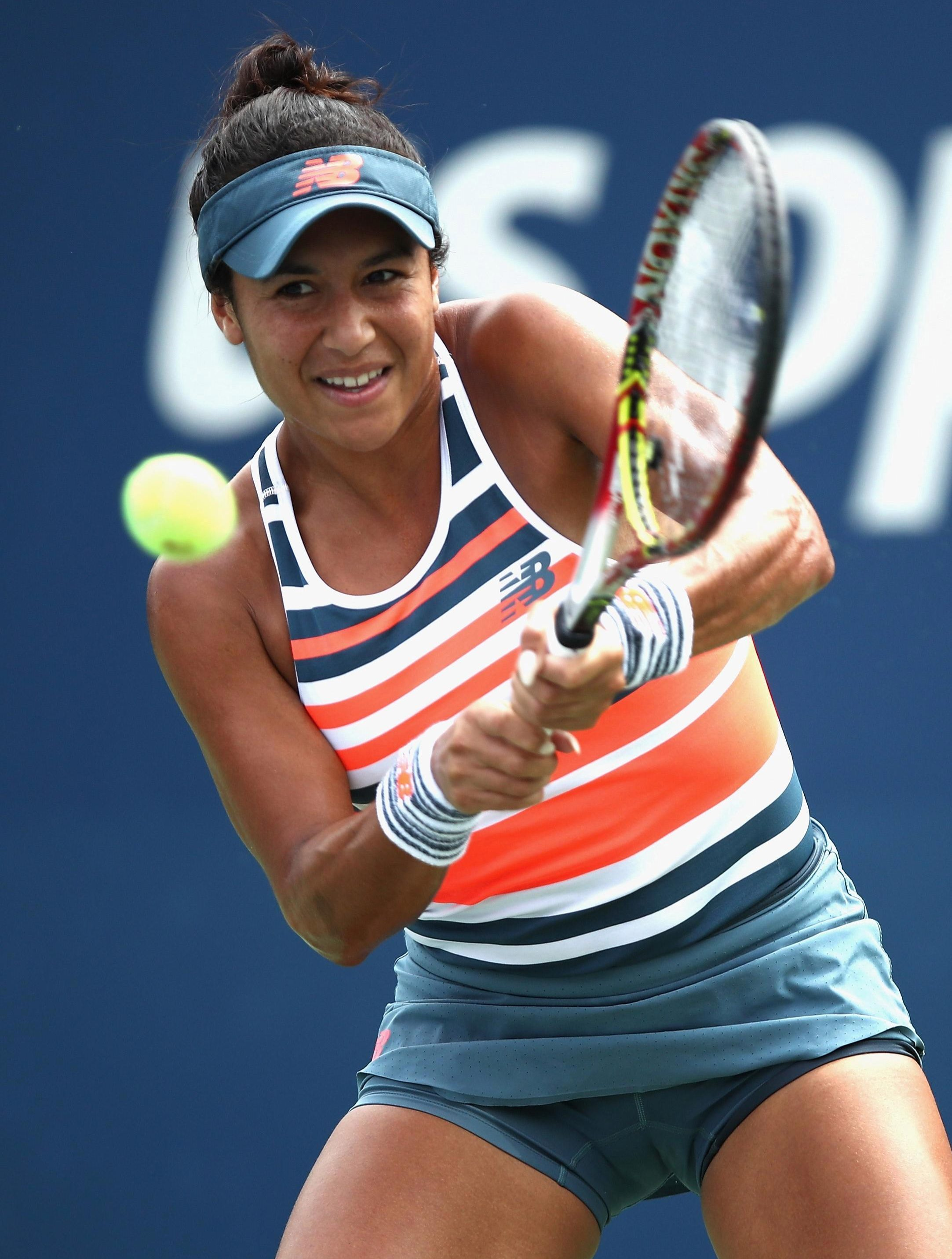 Heather Watson made it a bad day for British Tennis following Edmund out of the US Open first round