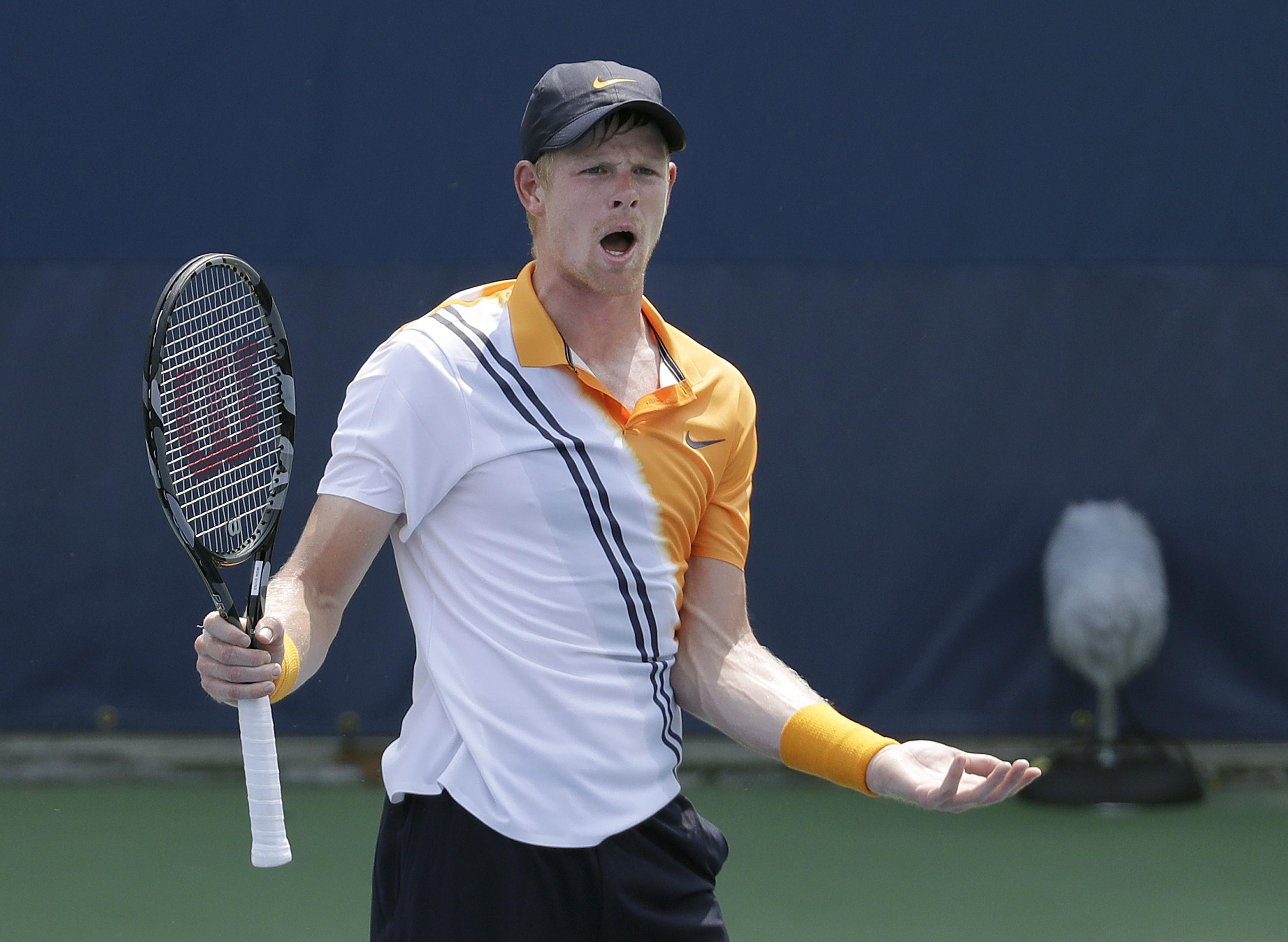 Kyle Edmund loses in first round of US Open