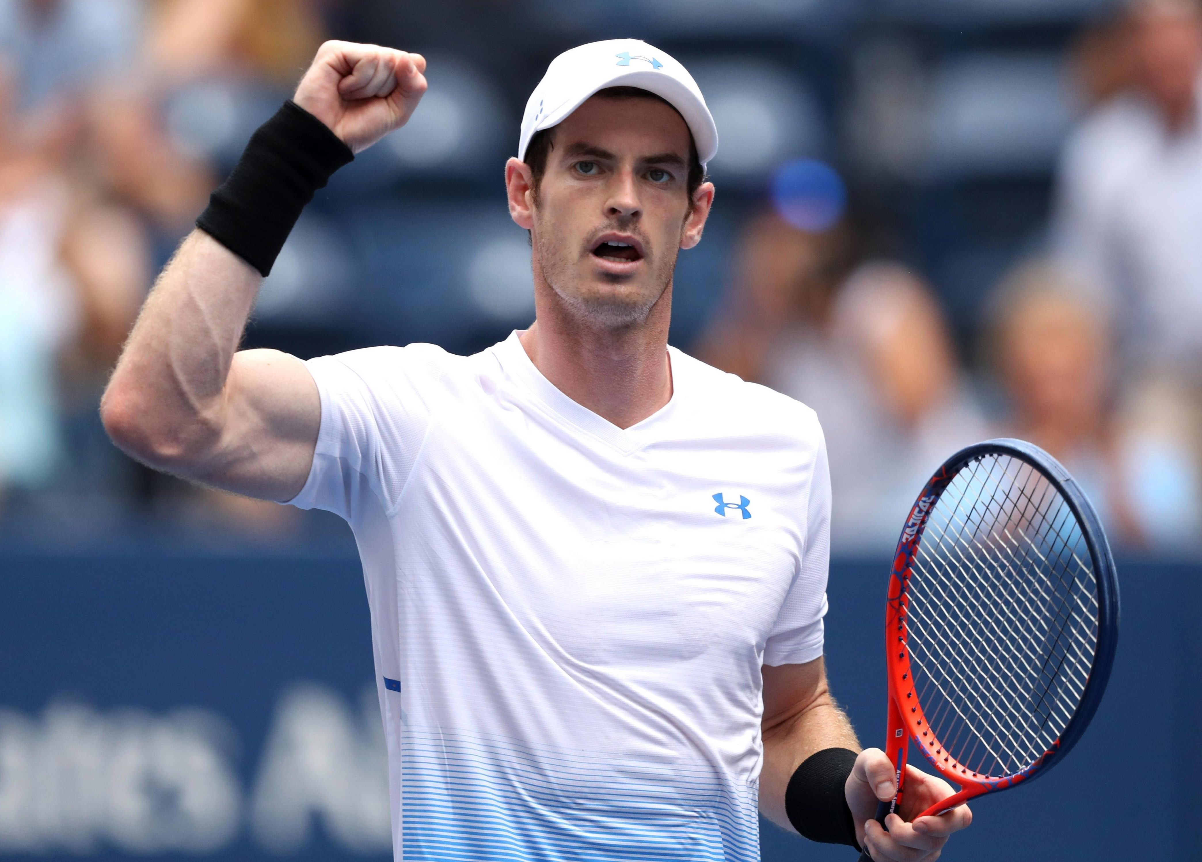 Andy Murray was quietly satisfied with his Grand Slam return, albeit a patchy win over James Duckworth