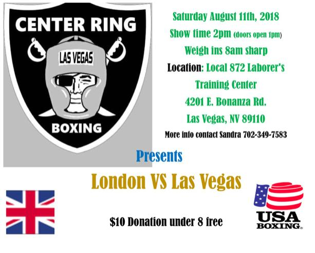 The Las Vegas fighters were on home soil but were still beaten by the Londoners