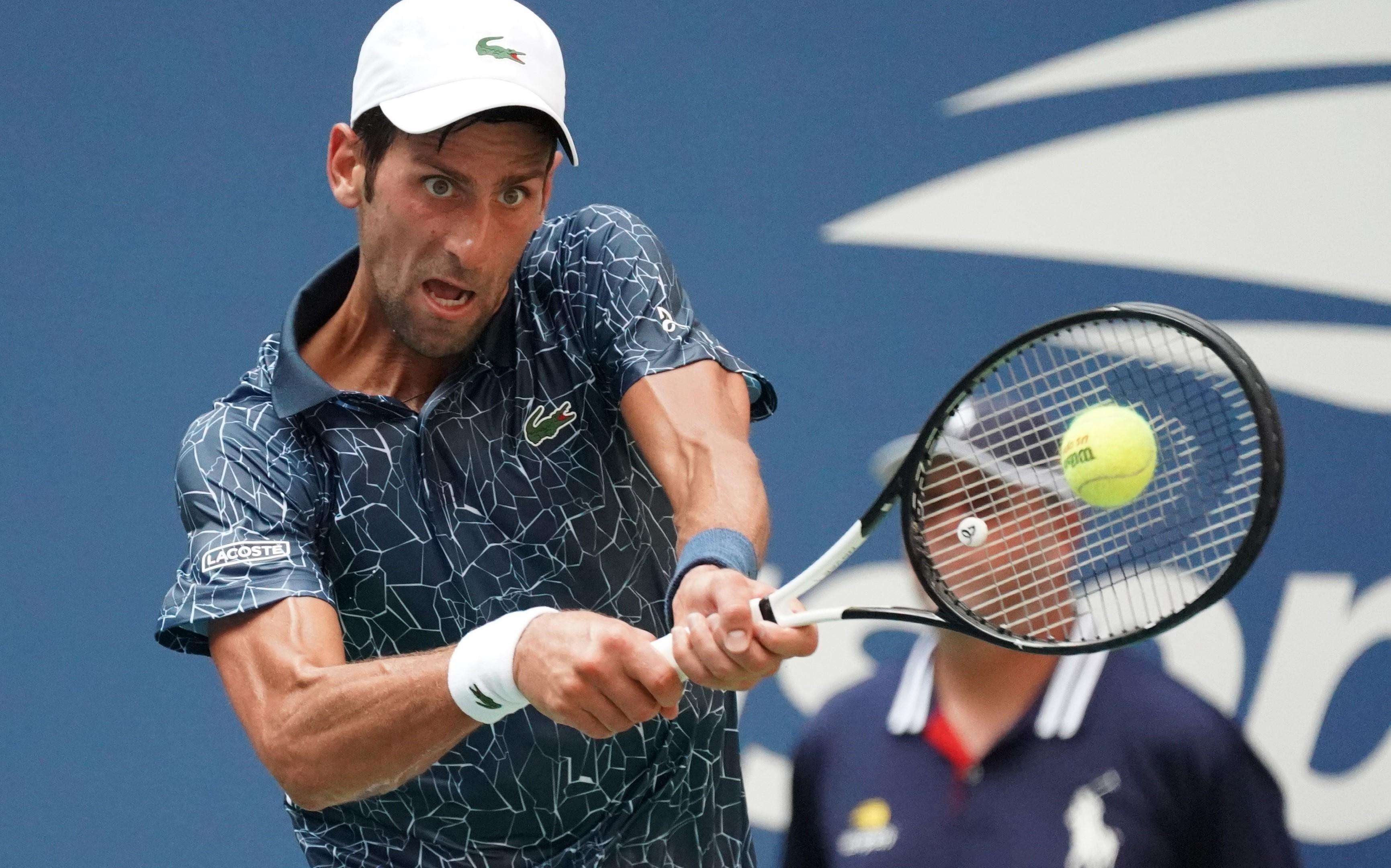 The Serb is looking for his third US Open title having last won in 2015
