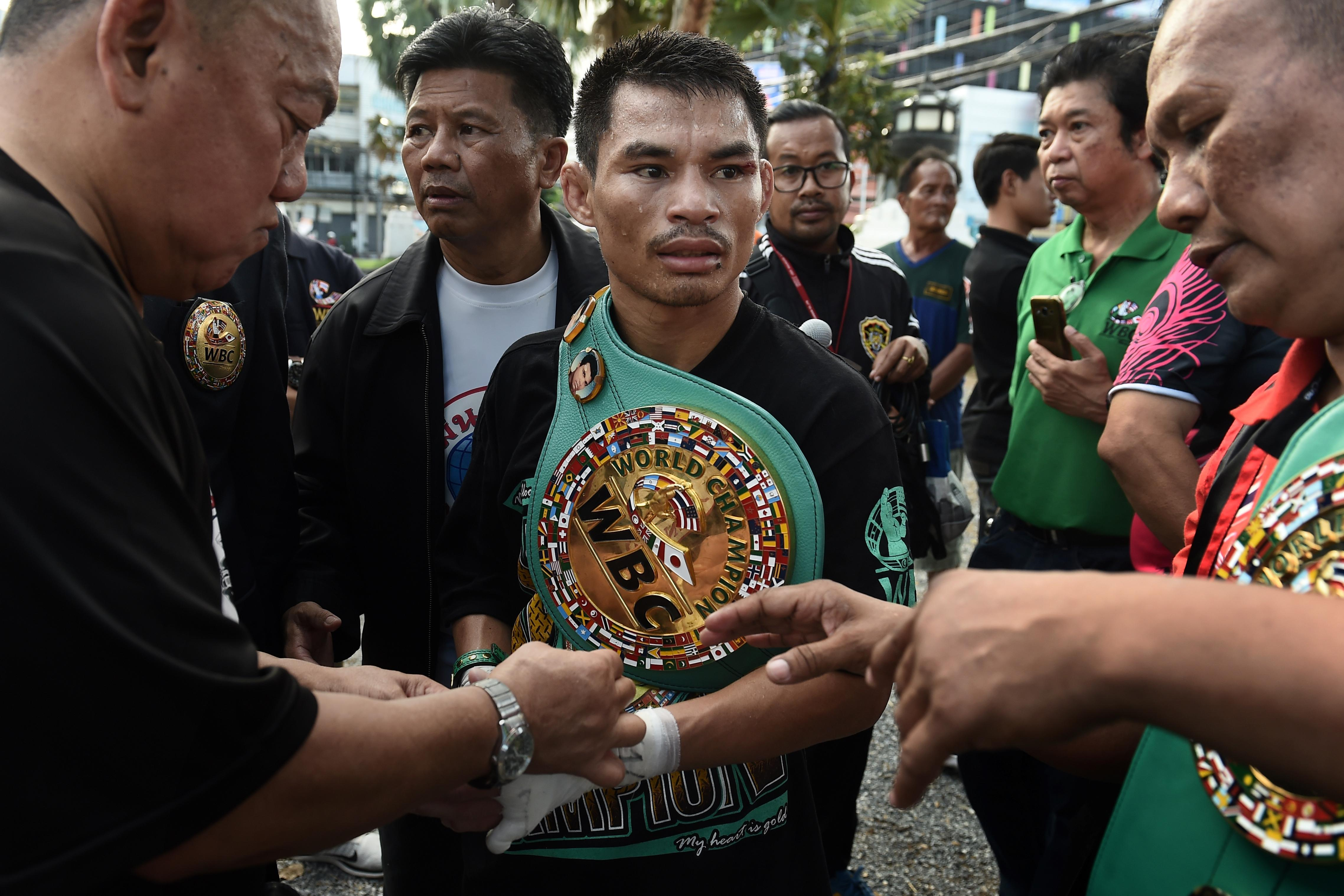 Thai boxer Wanheng Menayothin now holds the greatest flawless record in boxing hsitory