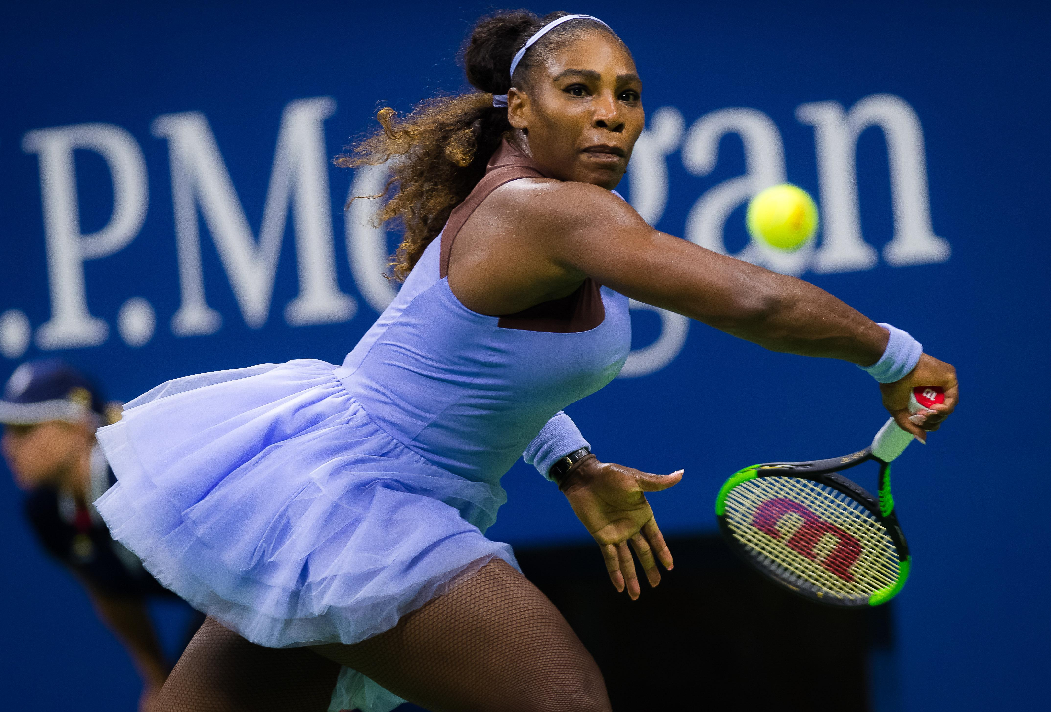 Serena Williams is targeting her 24th Grand Slam title to go level with Margaret Court