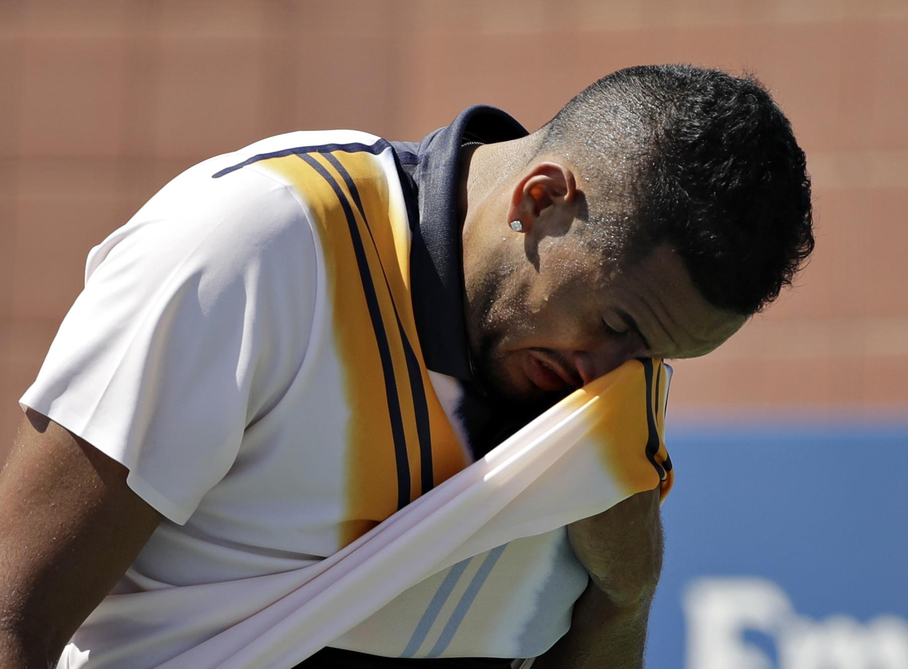 Kyrgios has been vocal in his criticism of US Open chiefs amid brutal temperatures in New York