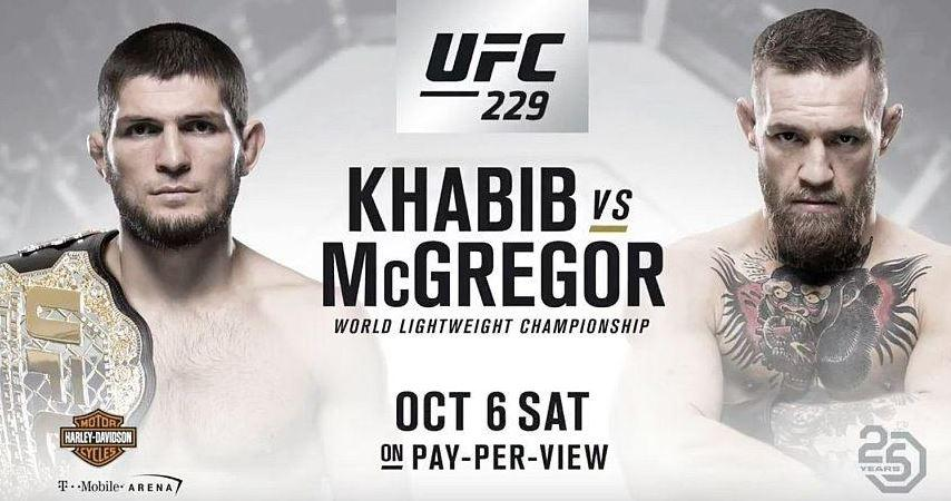 Conor McGregor vs Khabib Nurmagomedov is done