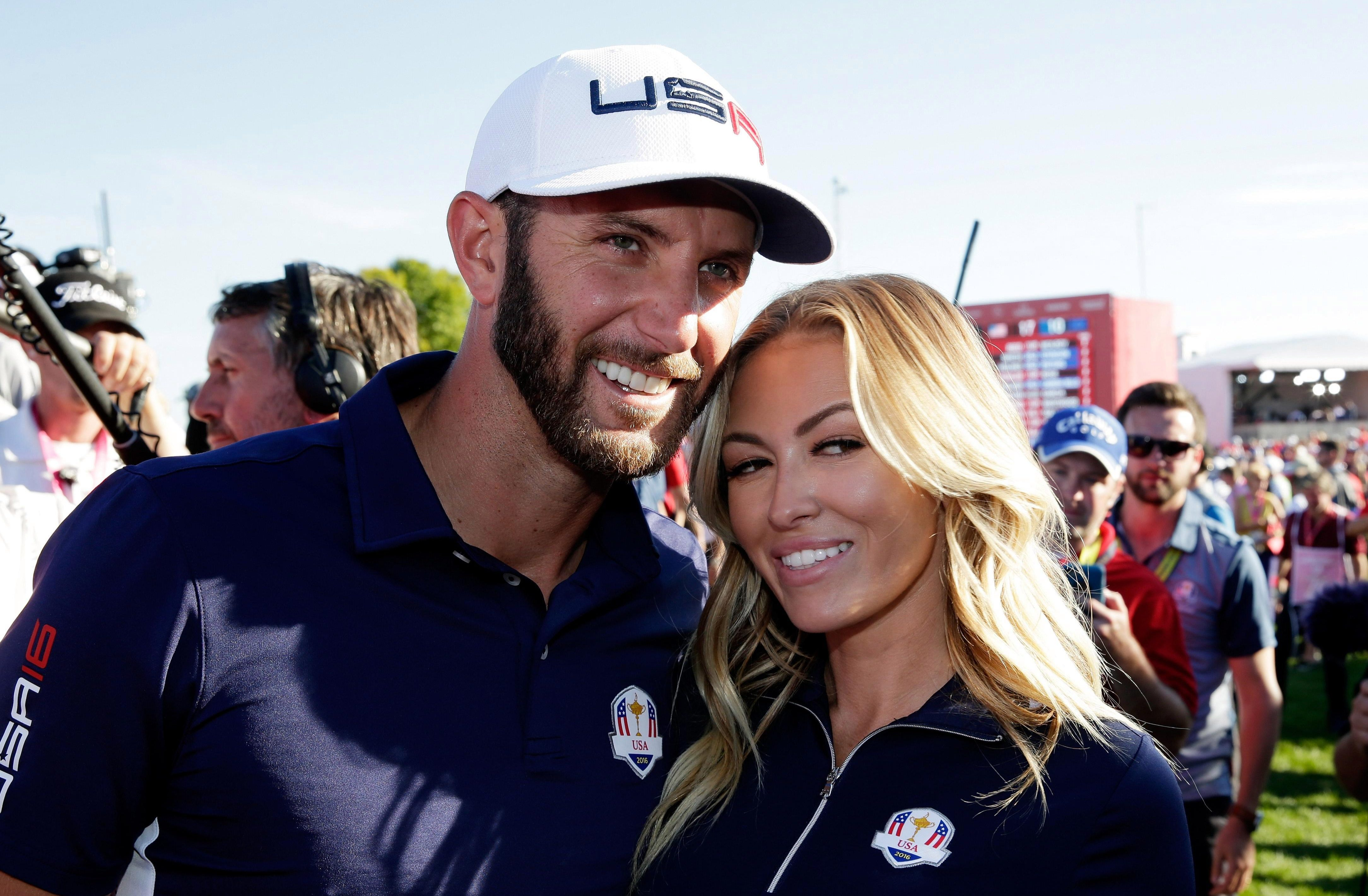 Paulina Gretzky will be in France to support fiance Dustin Johnson in the Ryder Cup after split rumours rocked their relationship